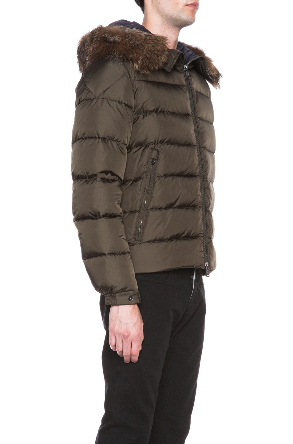 moncler jacket brown