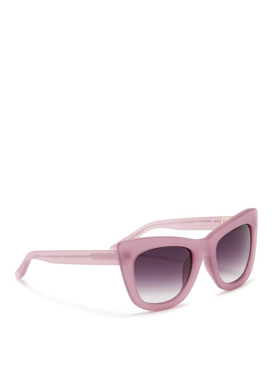 3.1 Phillip Lim Cat Eye Tinted Sunglasses - Rose gold 3.1 Phillip Lim VeuOt6U