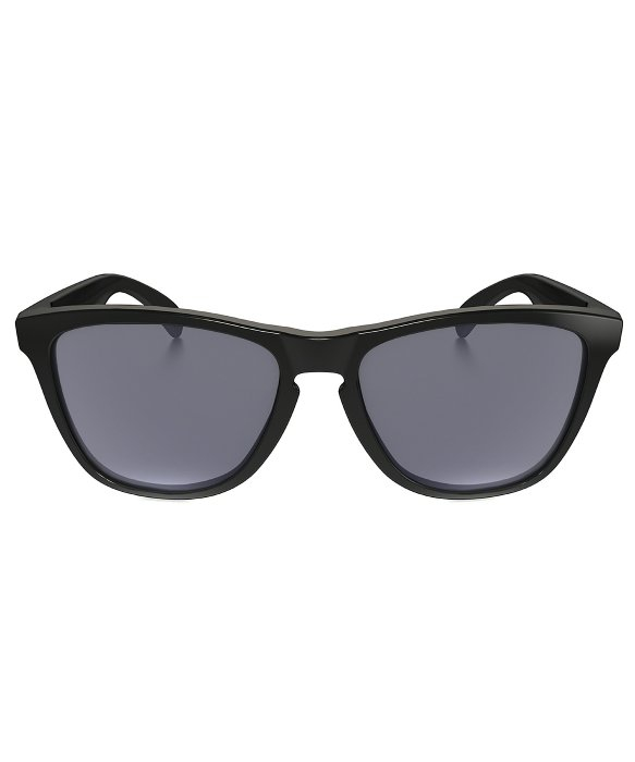 5f6e4f3c7c Oakley Frogskins Sunglasses - Polished Black - Bitterroot Public Library