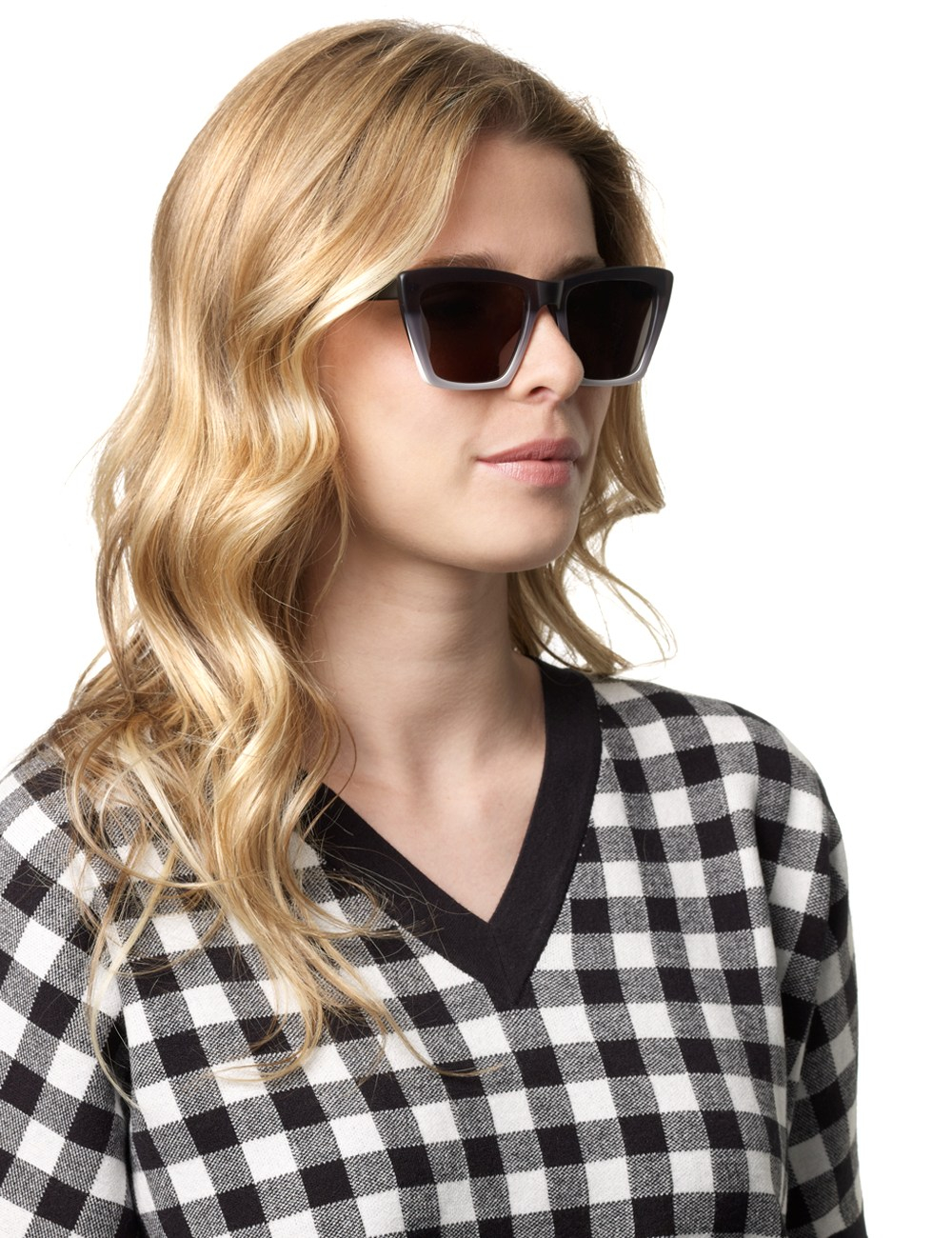 Prism Sydney Sunglasses  prism matte black ombre sydney sunglasses in black lyst