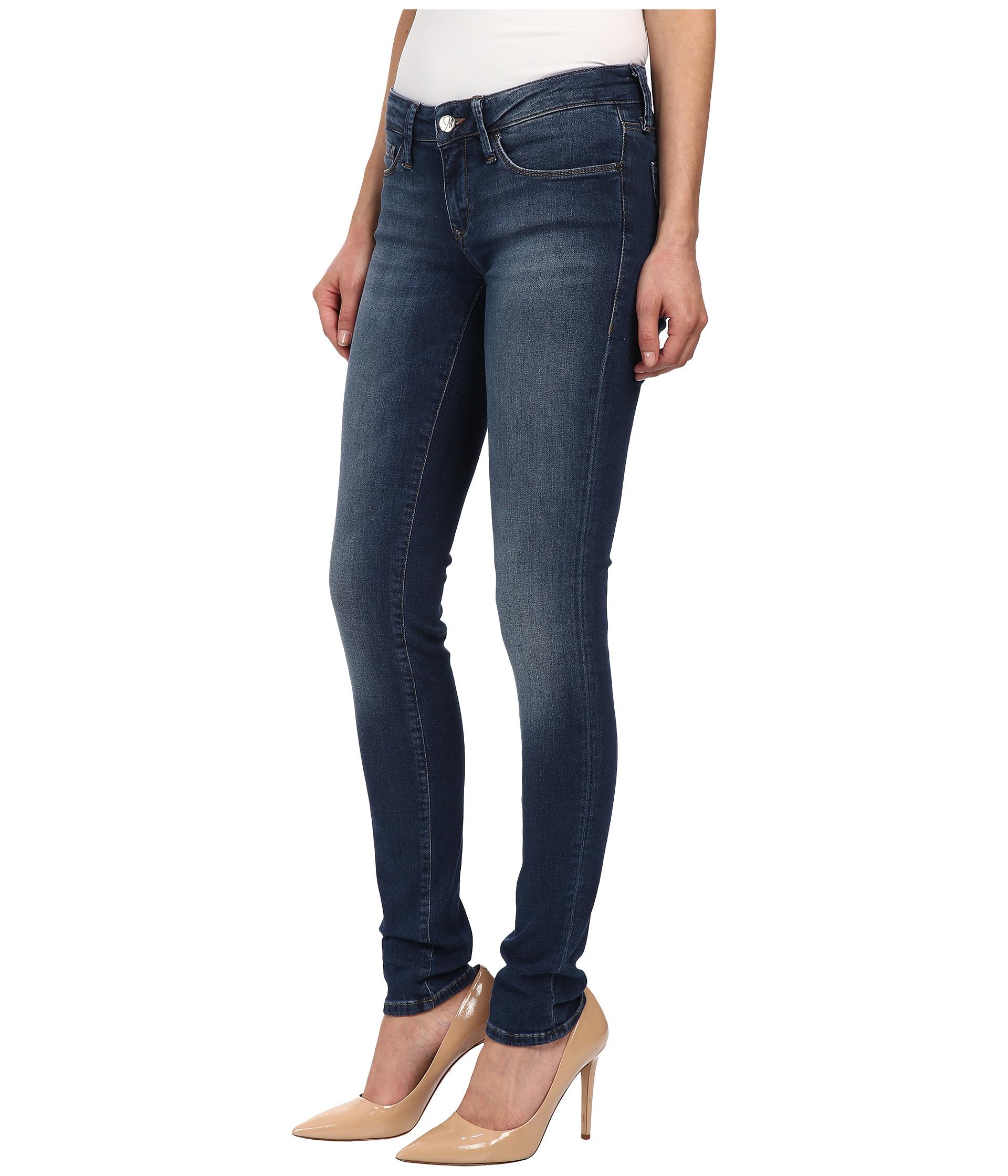 mavi jeans serena in dark super in blue lyst. Black Bedroom Furniture Sets. Home Design Ideas