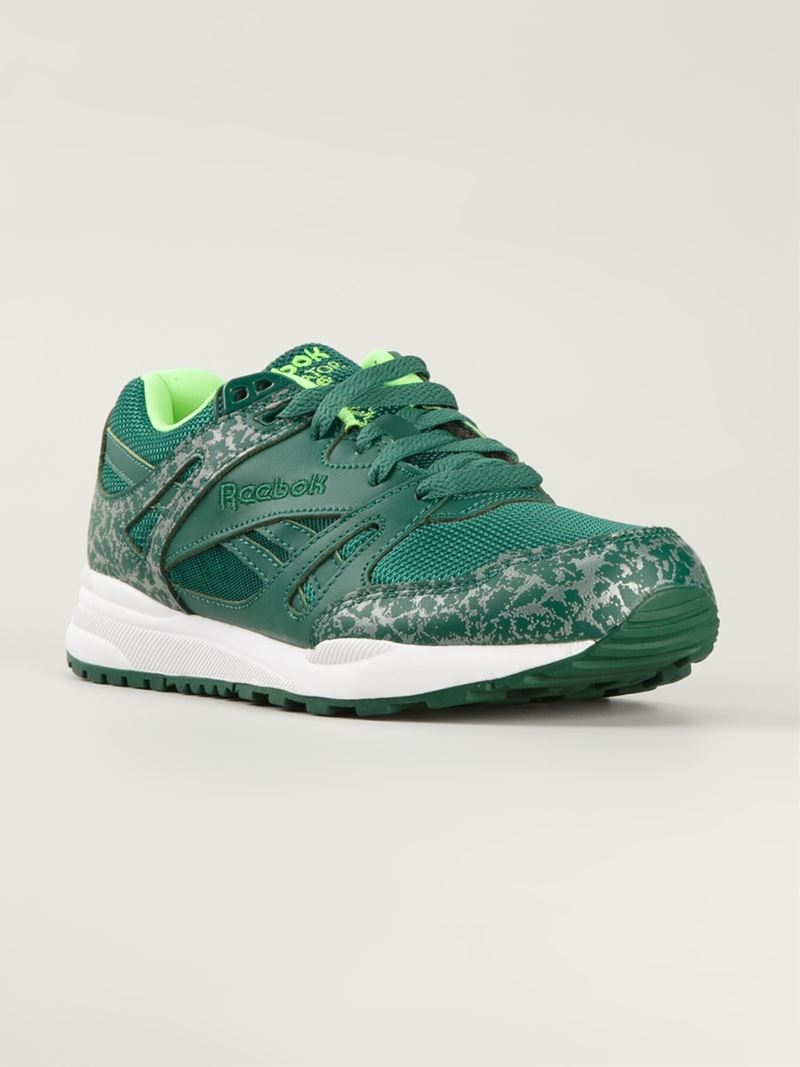 743225699769d4 Reebok  Ventilator Reflective  Sneakers in Green for Men - Lyst