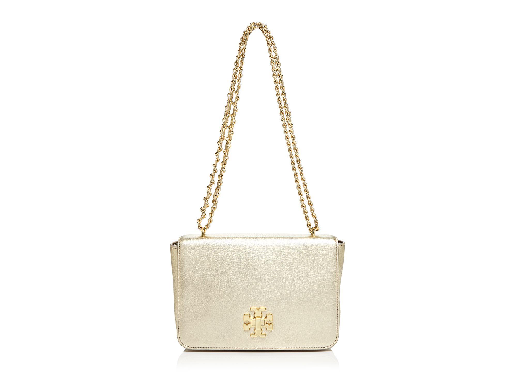 28d2827d415c Lyst - Tory Burch Shoulder Bag - Mercer Adjustable Metallic in Metallic