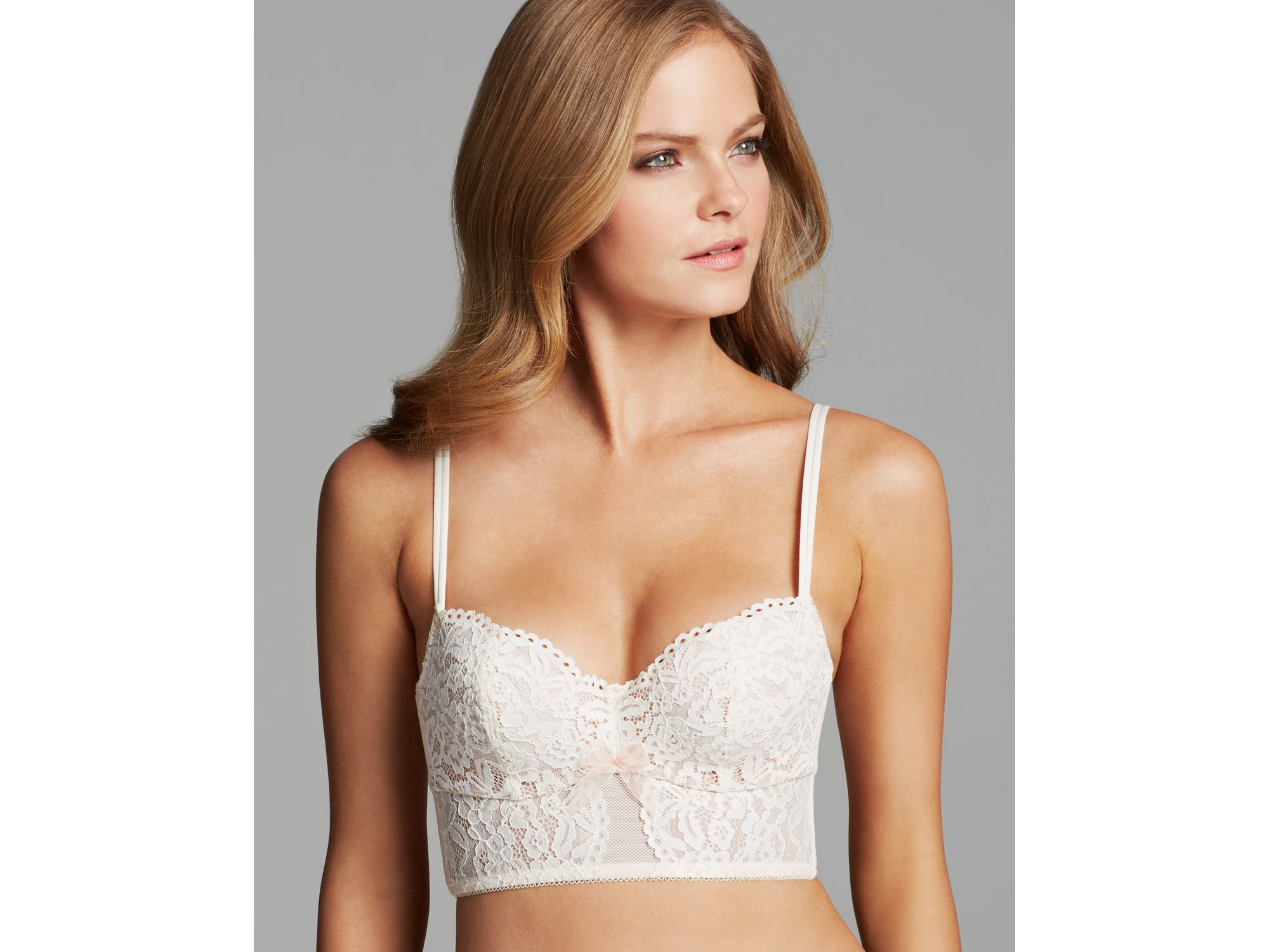 c10d371f8c Lyst - B.tempt d Bra - Ciao Bella Long Line  959244 in White