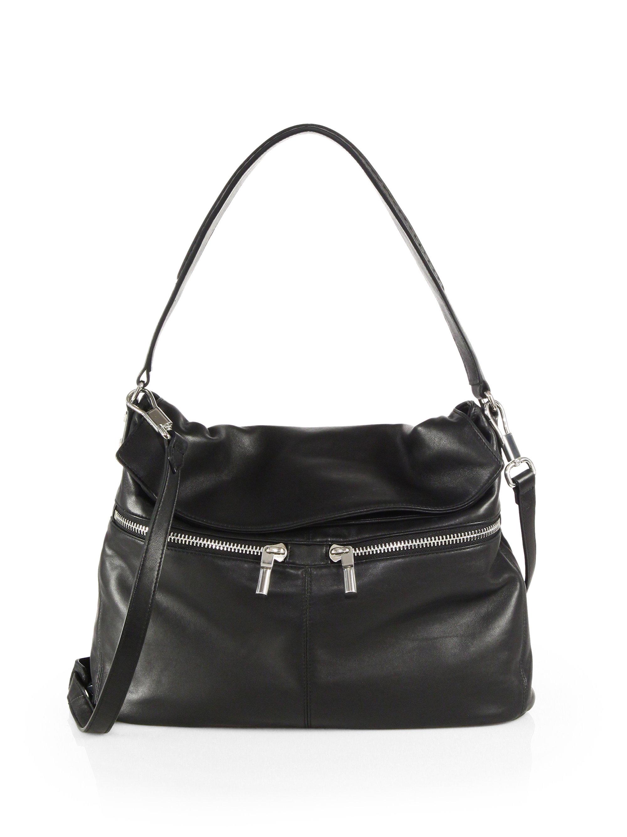 Elizabeth and james James Convertible Hobo Bag in Black | Lyst