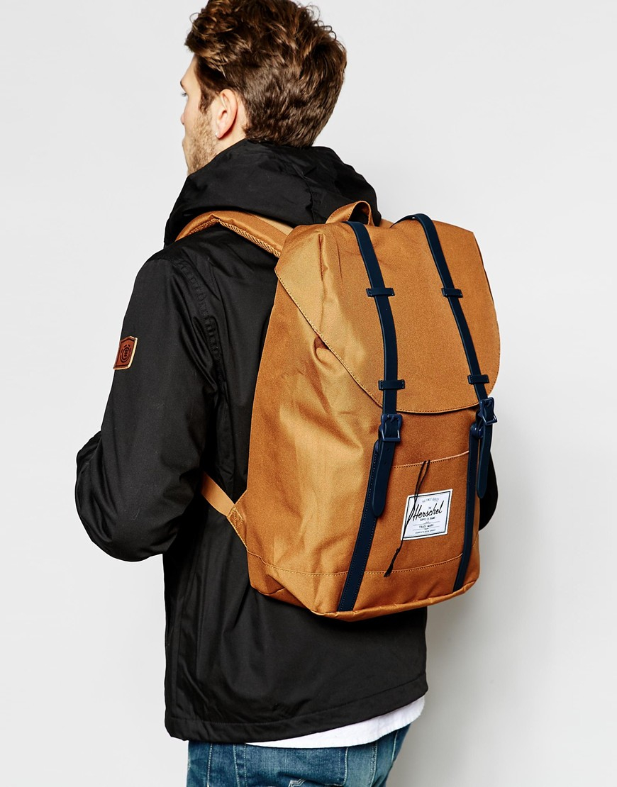 cc5f3863872 Lyst Herschel Supply Co 22l Retreat Backpack In Brown For Men