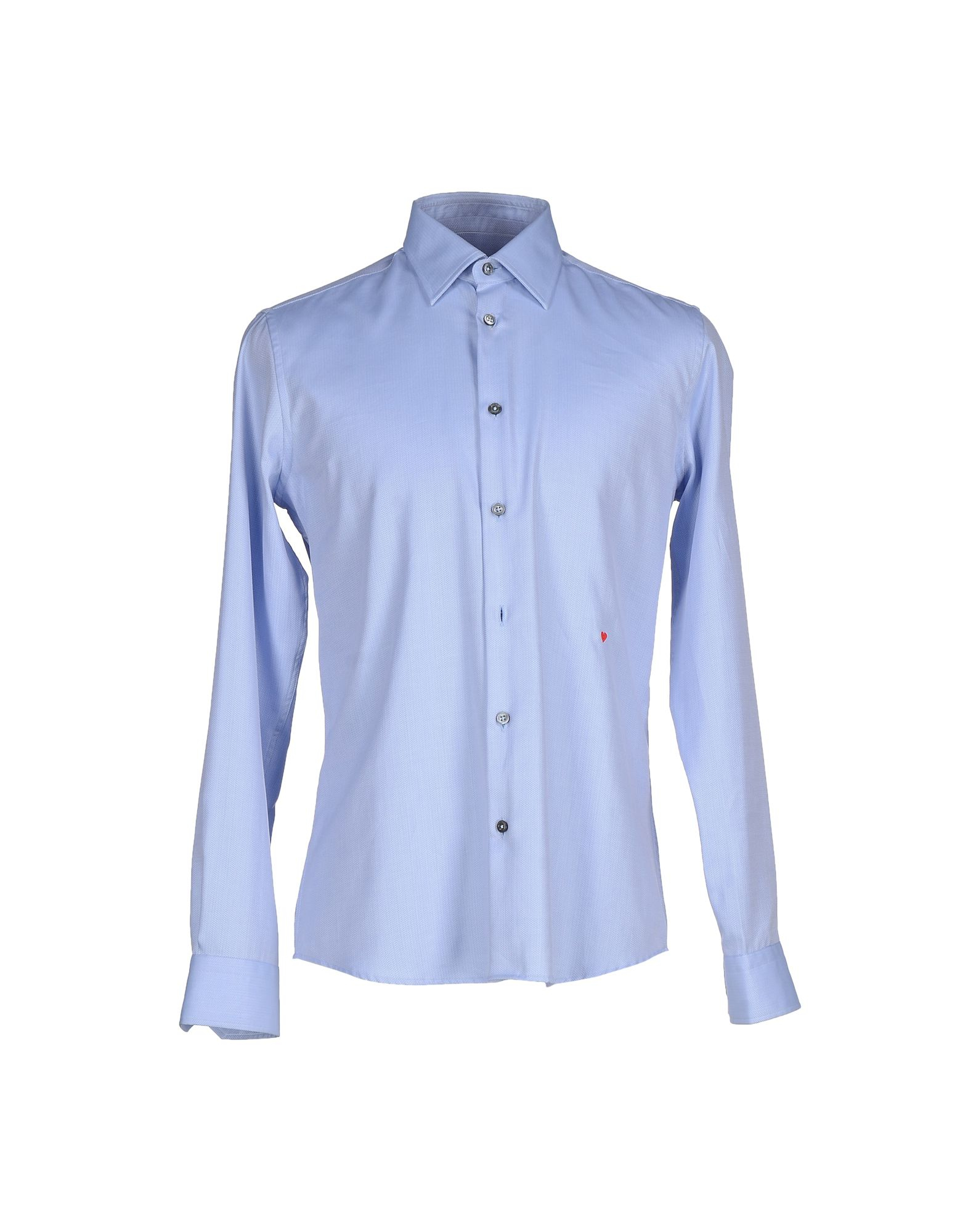 moschino shirt in blue for men sky blue lyst. Black Bedroom Furniture Sets. Home Design Ideas