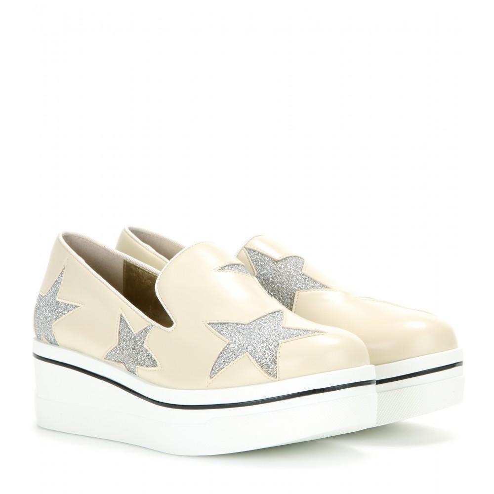 Stella McCartney Women's Binx Stars Slip-On Platform Sneaker eSBNd
