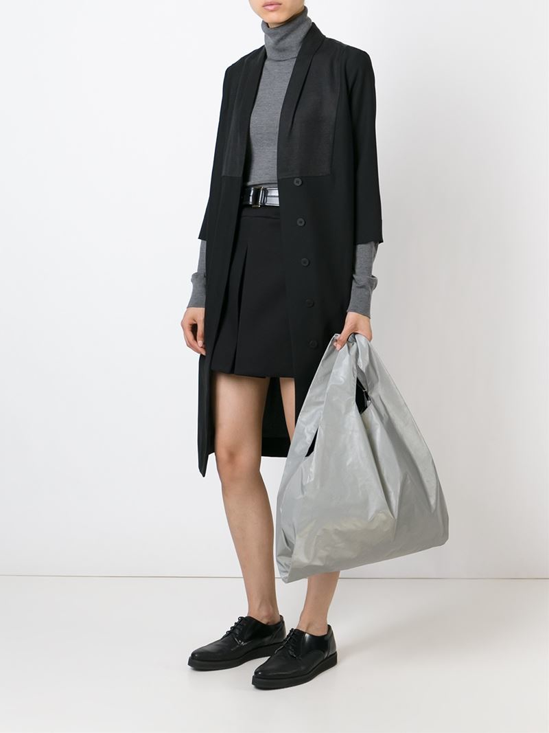 Lyst mm6 by maison martin margiela oversized shopper for Mm6 maison margiela
