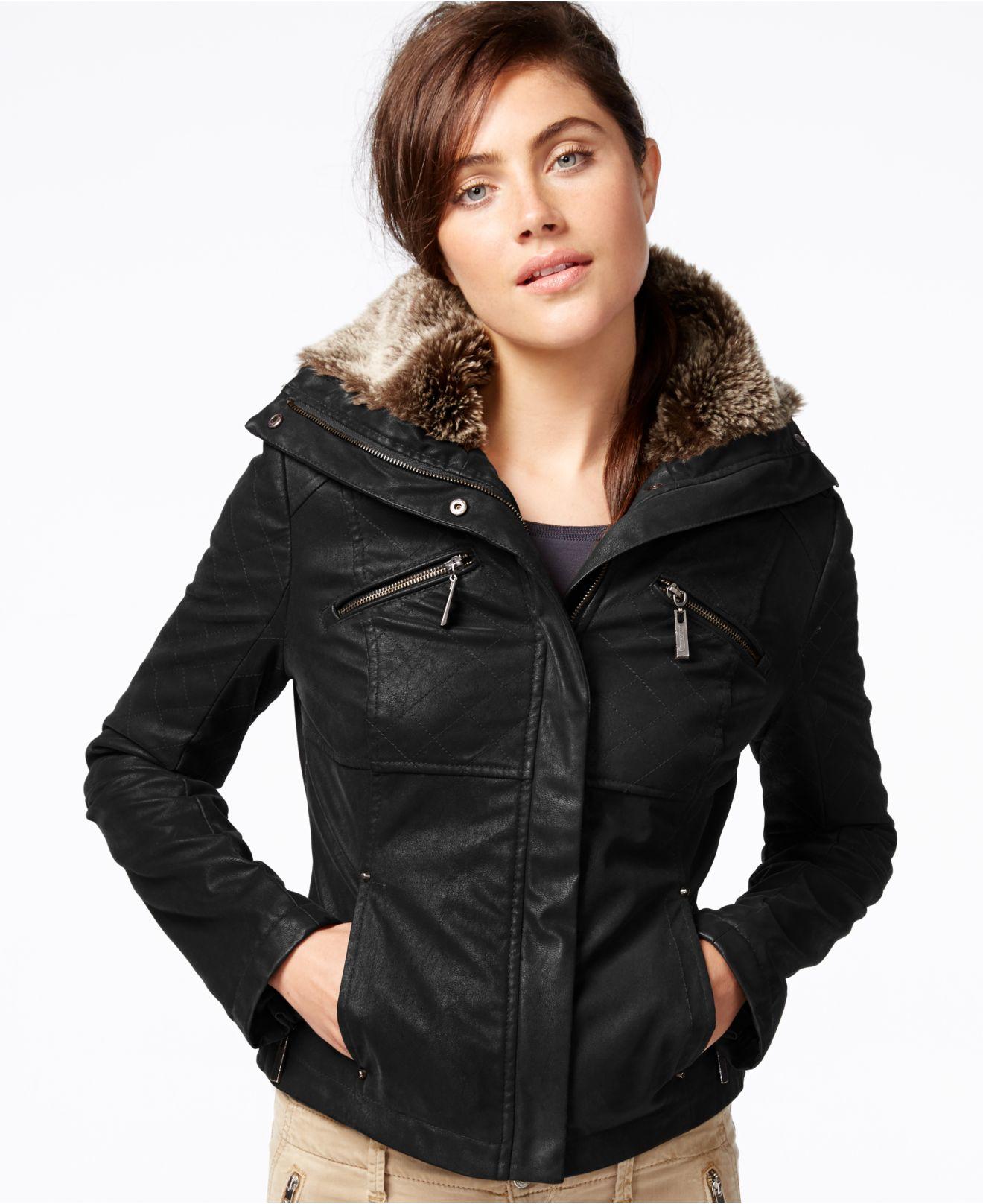 Jou jou leather jacket
