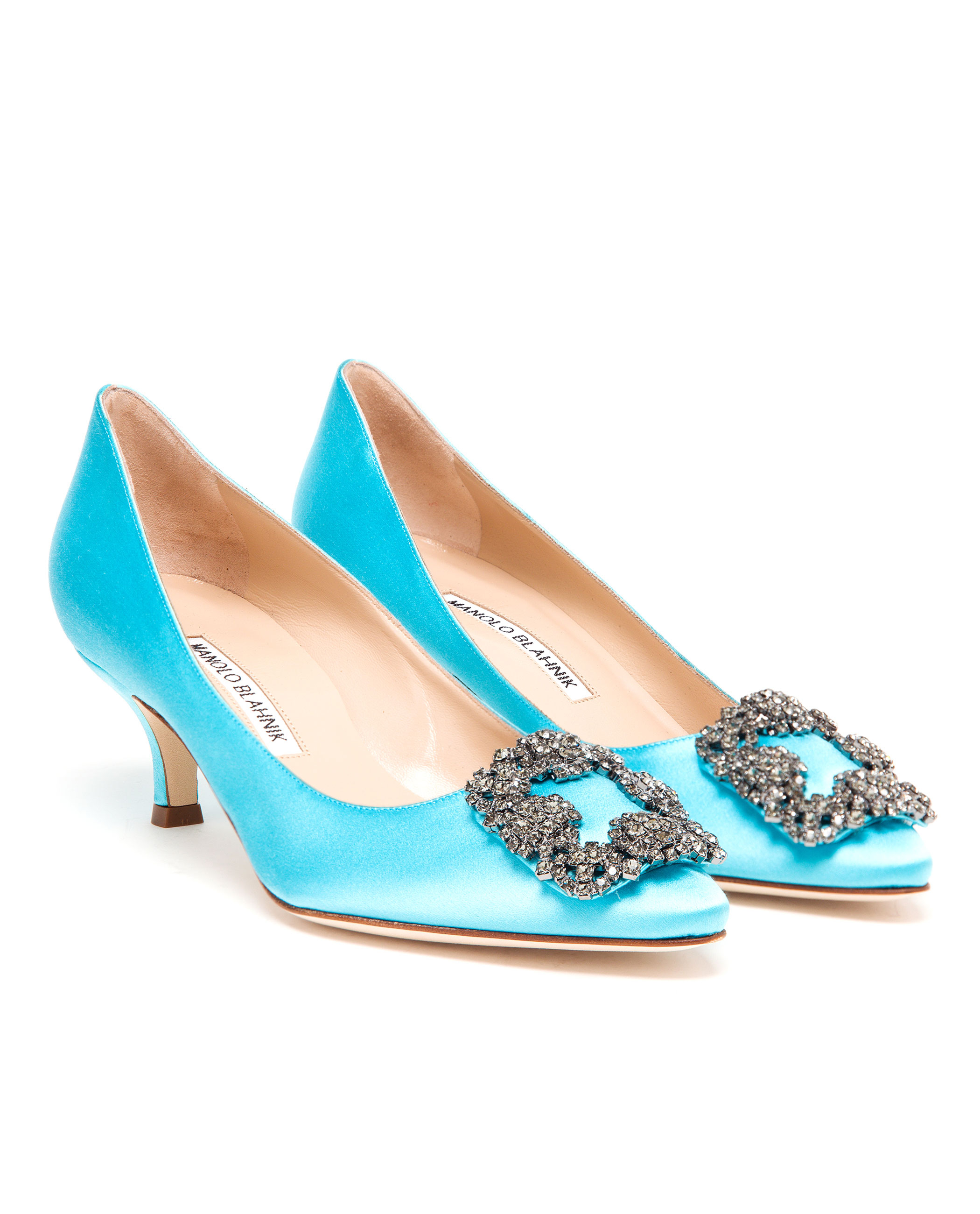 6635c8b8954 Gallery. Previously sold at  Browns · Women s Manolo Blahnik Hangisi ...
