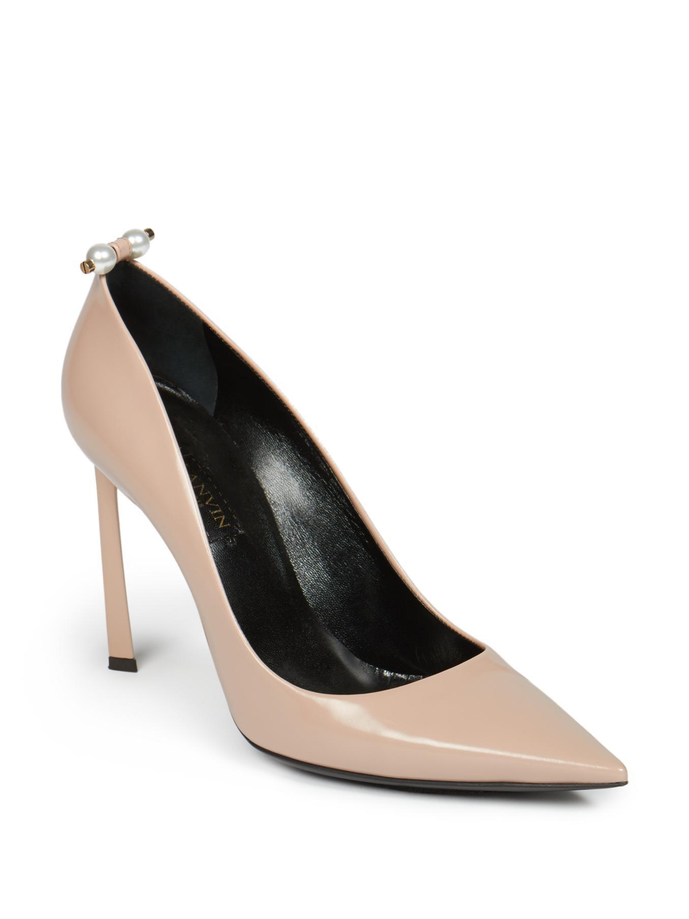 Lanvin Leather Heels Sale Fake RT4aBVHxg
