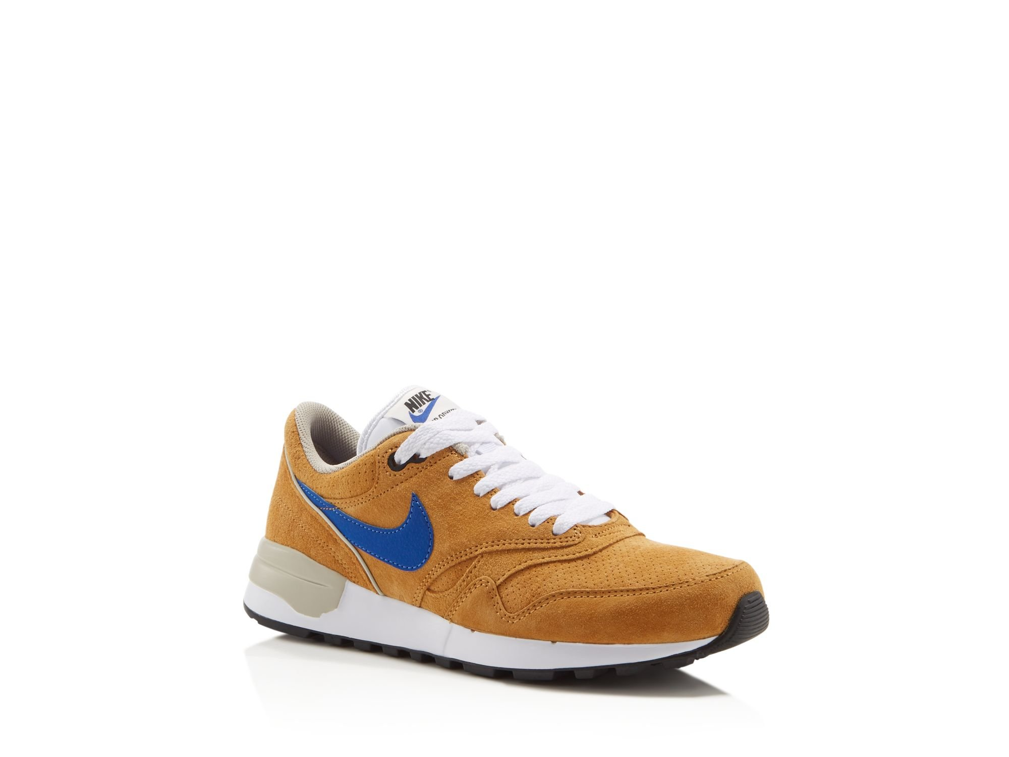 nike air odyssey ltr sneakers in yellow for men lyst. Black Bedroom Furniture Sets. Home Design Ideas