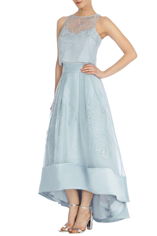 Lyst - Coast Sulla Skirt in Blue