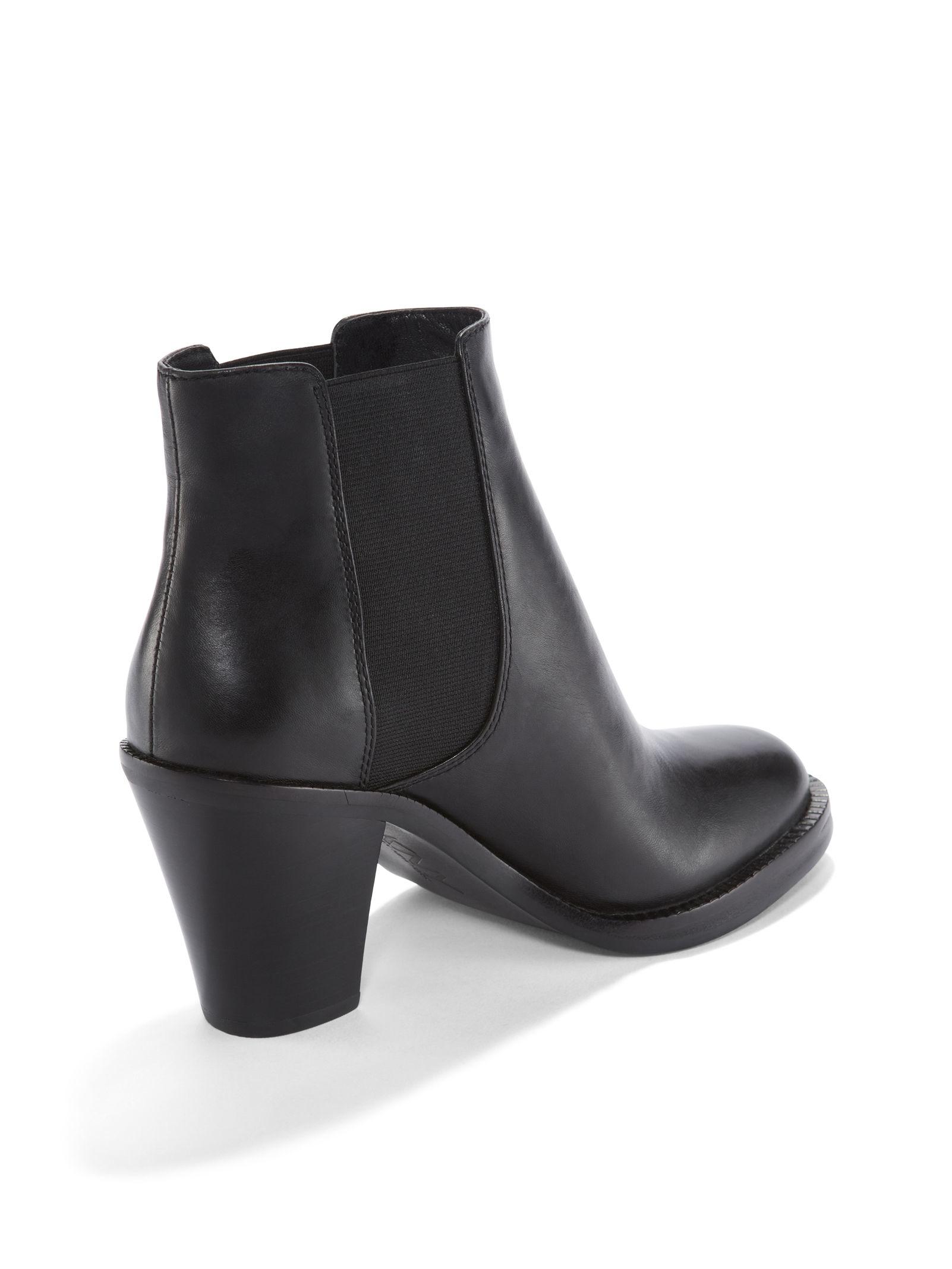 Dkny Black Platform Suede Shoes