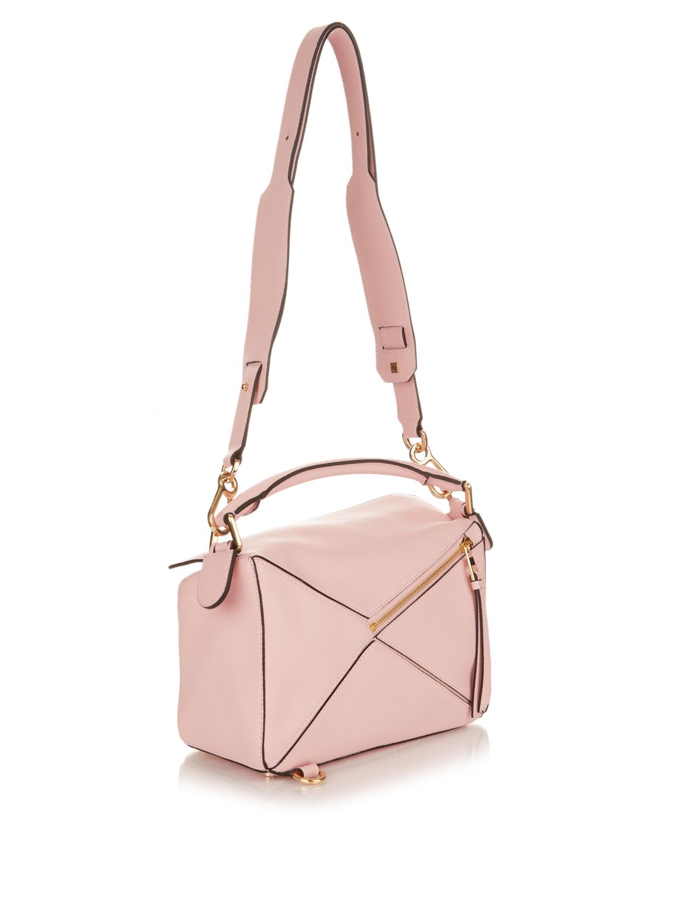 Pink Mini Puzzle Bag Loewe DVNlC