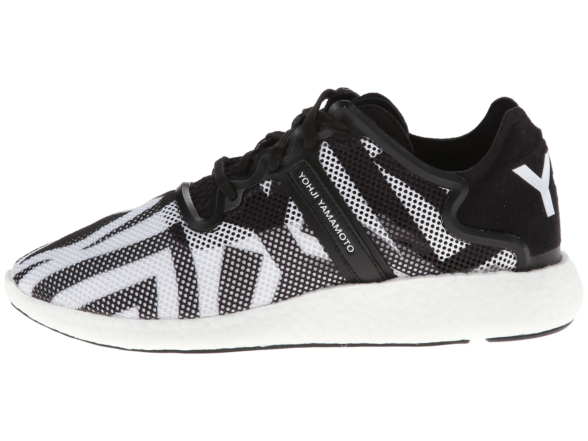 e677c30e6eb Lyst - Y-3 Yohji Boost in Black