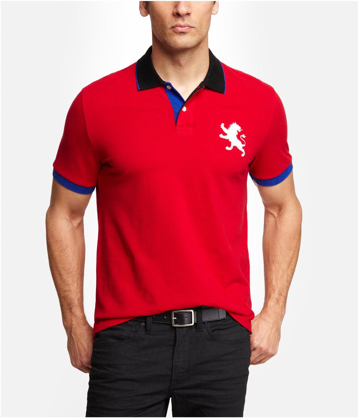 Polo Shirts Logo Lion Artistic Endeavours