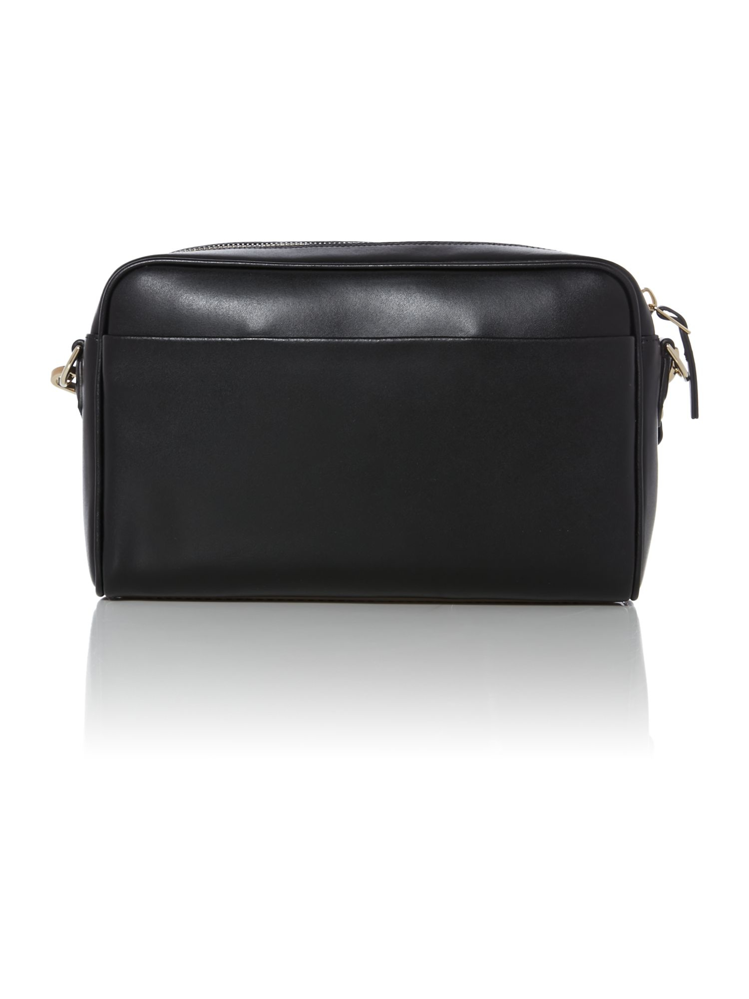 Paul smith Plain Leather Black Cross Body Bag in Black | Lyst