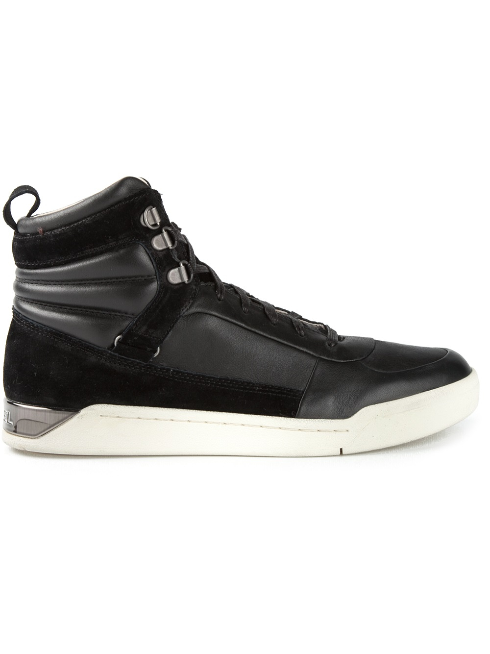 DIESEL 'Onice' Hi-Top Sneakers in Black for Men - Lyst