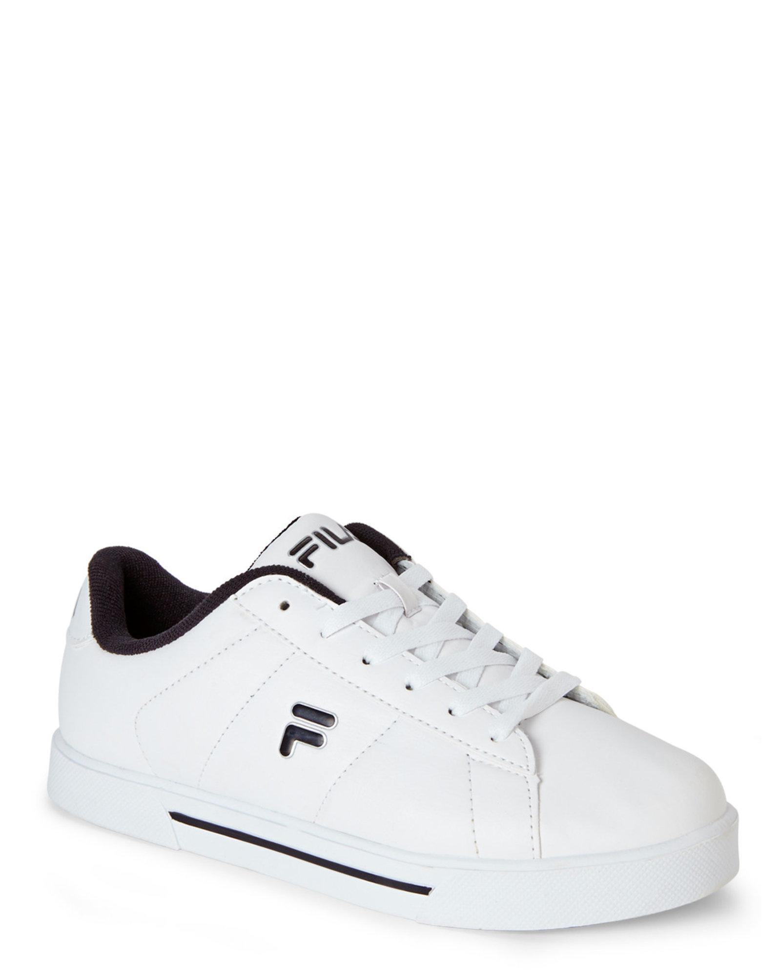 27caad6b9f9 Fila - White   Black Benefactor Sneakers - Lyst