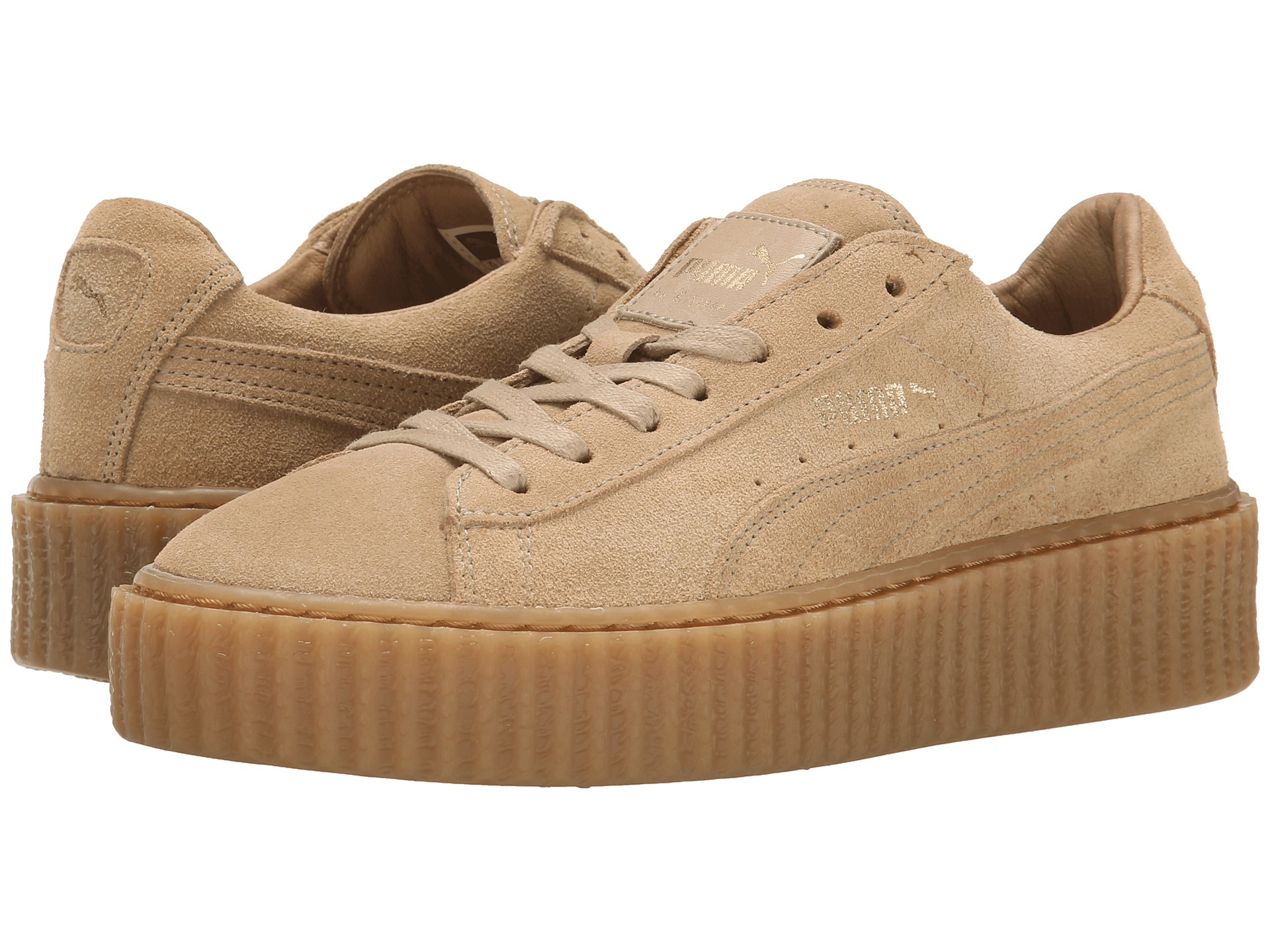 puma suede platform core beige gentle. Black Bedroom Furniture Sets. Home Design Ideas