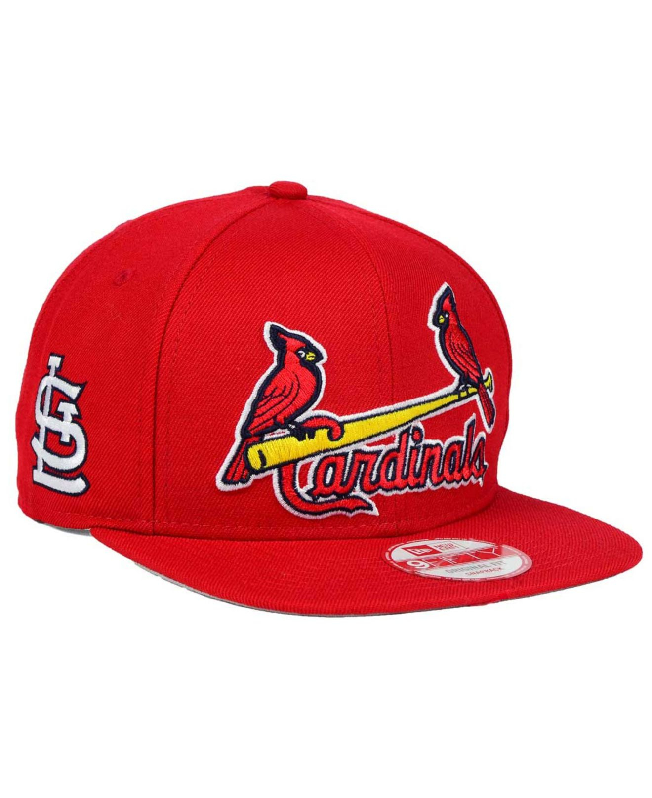 sports shoes bfa34 e28d8 Lyst - KTZ St. Louis Cardinals Xl Script 9fifty Snapback Cap in Red ...