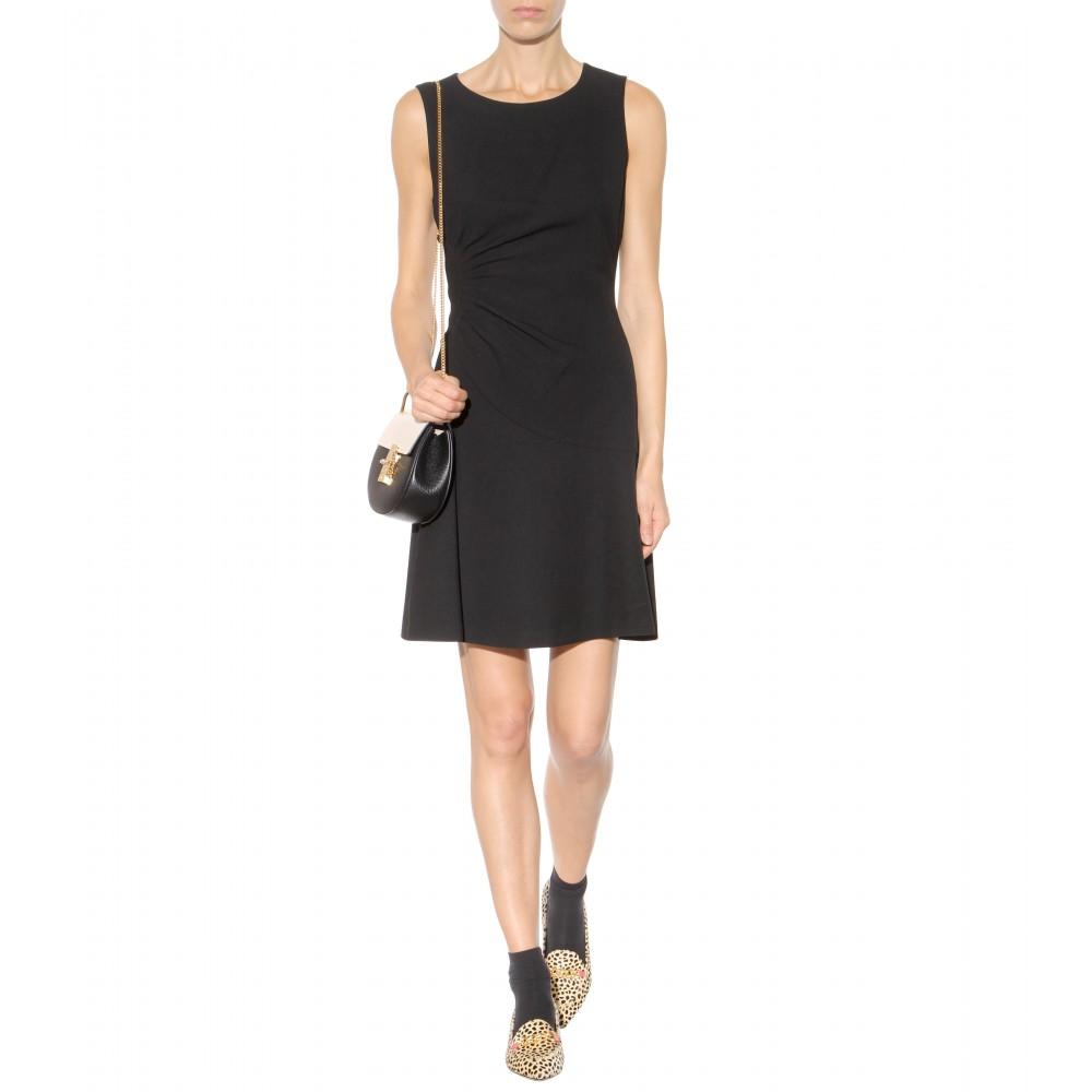 Lyst diane von furstenberg dayna dress in gray for Diane von furstenberg clothing