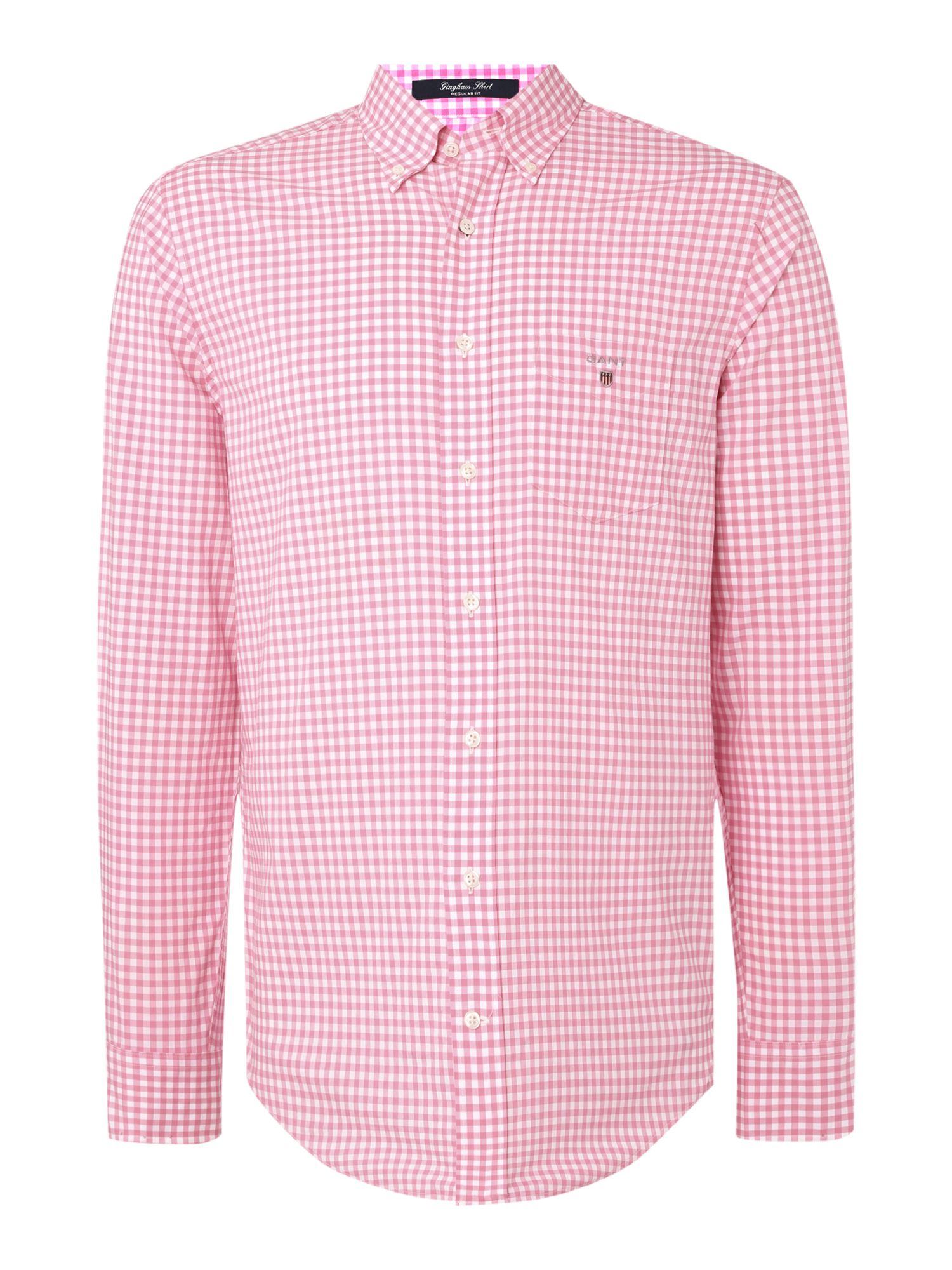 New Men's Shirts Regular Fit Shirts Slim Fit Shirts Fitted Shirts Super Fitted Shirts Tuxedo Shirts Non-Iron Shirts Stretch Shirts White Shirts SHIRTS. Shirts Regular Fit Shirts Non-Iron Light Pink Gingham Regular Fit Shirt. Images. Non-Iron Light Pink Gingham Regular Fit Shirt. Details.