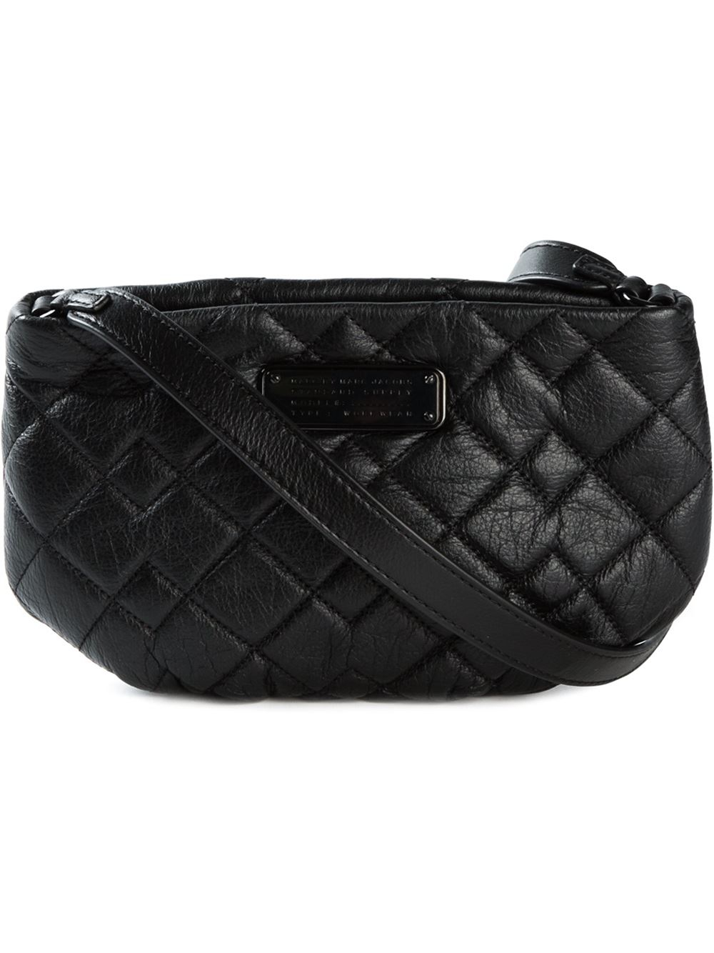 ac86f31e82b8 Lyst - Marc By Marc Jacobs New Q Quilted Percy Leather Cross-Body ...