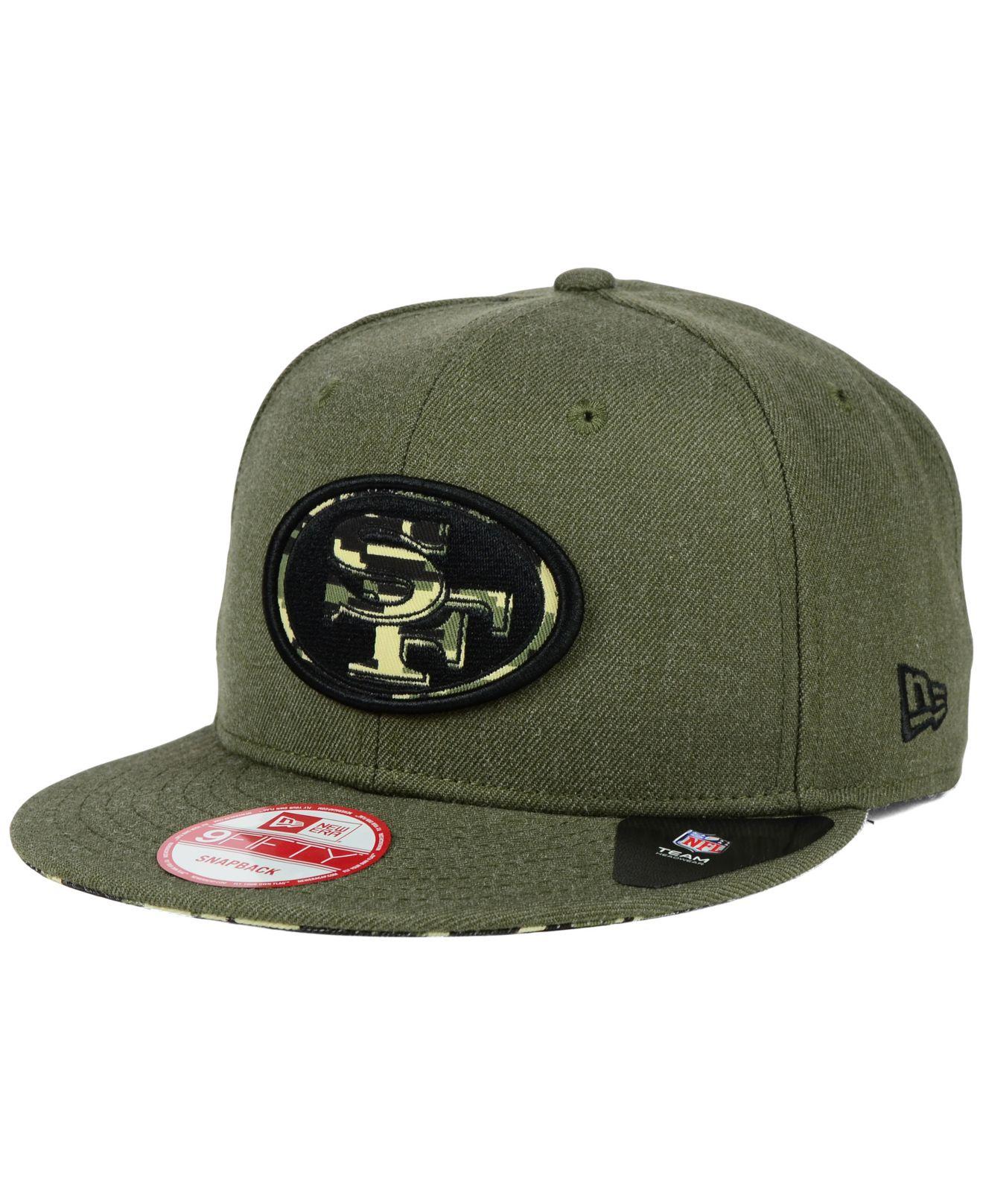 0667ff580 ebay san francisco 49ers new era nfl heather pop 9fifty snapback cap ...