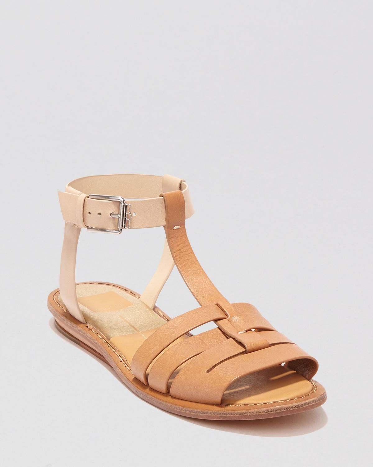 Dolce Vita Open Toe Flat Fisherman Sandals Desmonde In