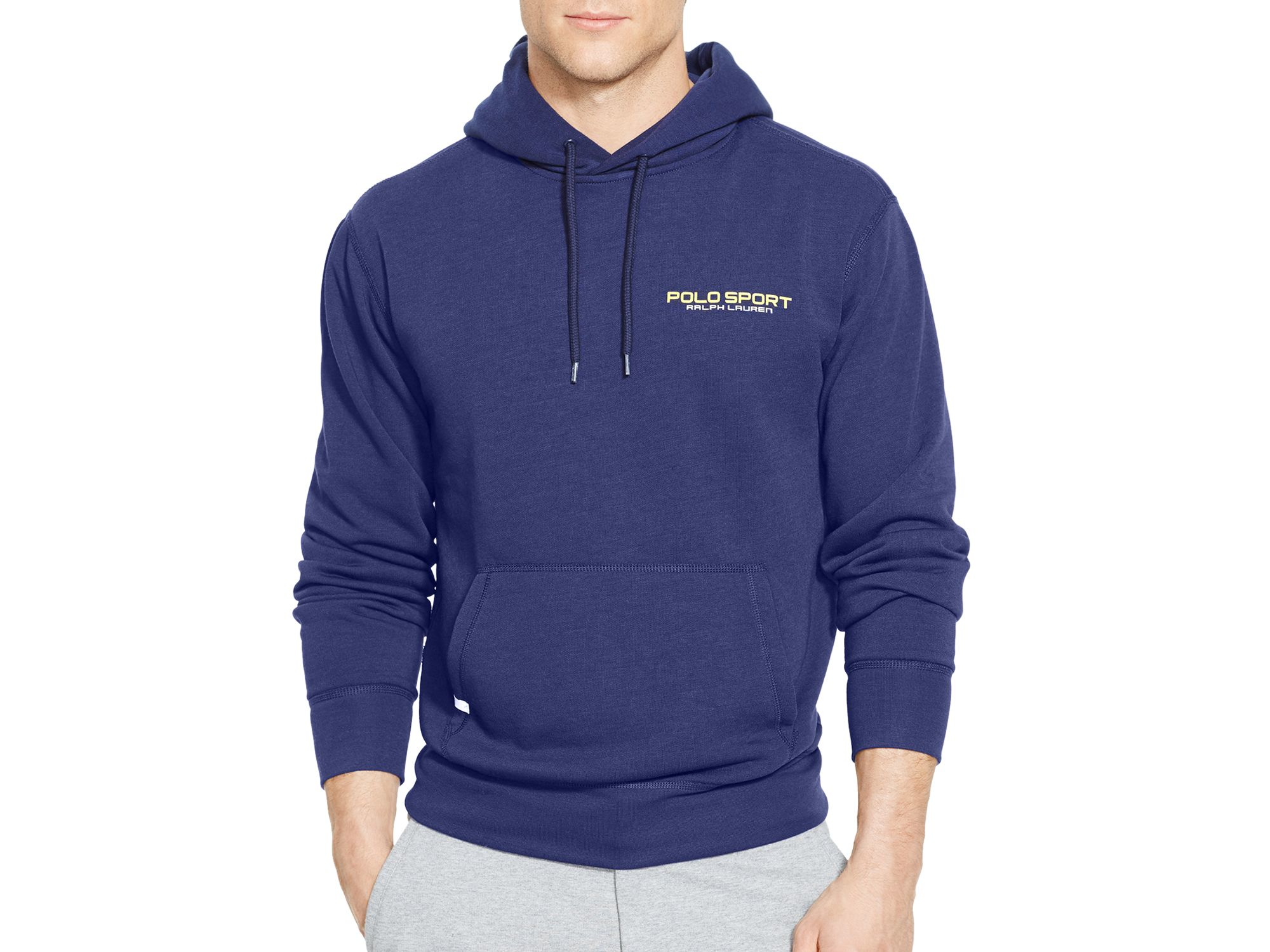 lyst ralph lauren polo sport fleece pullover hoodie in. Black Bedroom Furniture Sets. Home Design Ideas