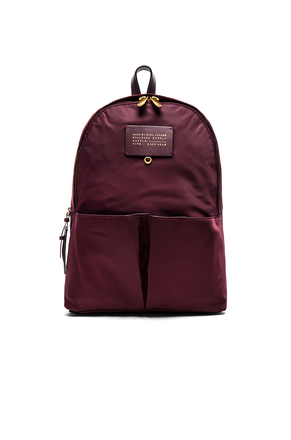 lyst marc by marc jacobs preppy legend backpack in purple. Black Bedroom Furniture Sets. Home Design Ideas