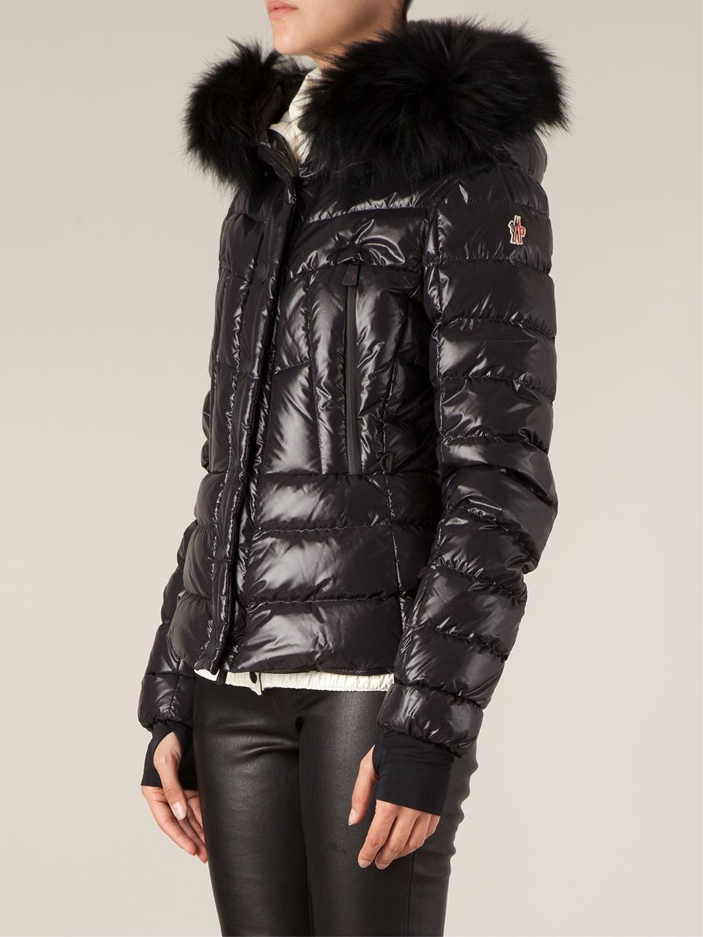 Moncler Jacket With Fur