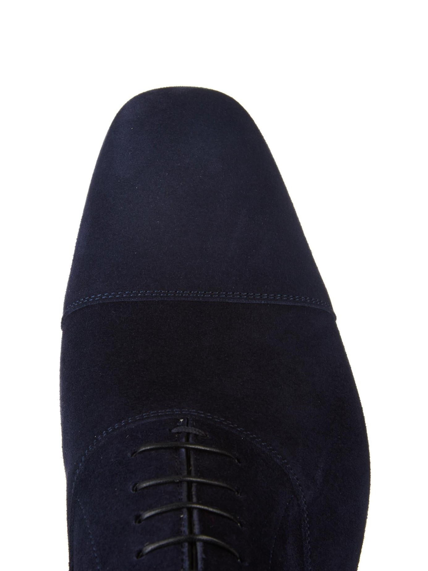 christian louboutin knock off - Christian louboutin Greggo Suede Lace-Up Shoes in Blue for Men ...