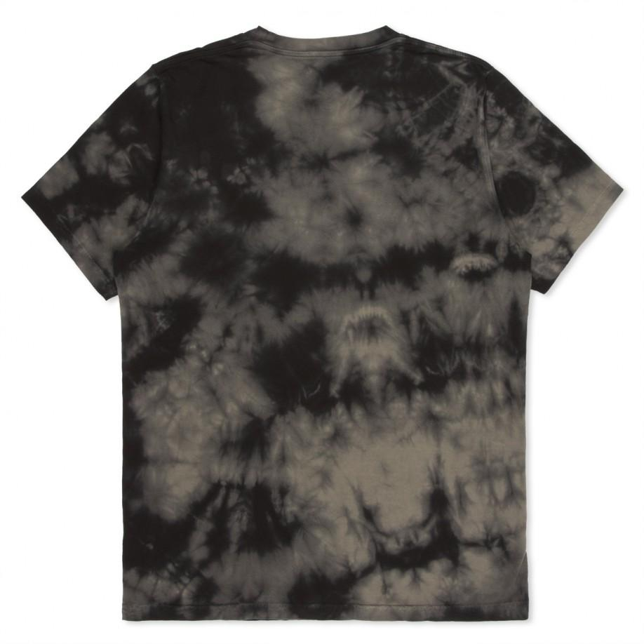 Paul smith Shirts - Black And Grey Tie-Dye Cherry Print T-Shirt in ...