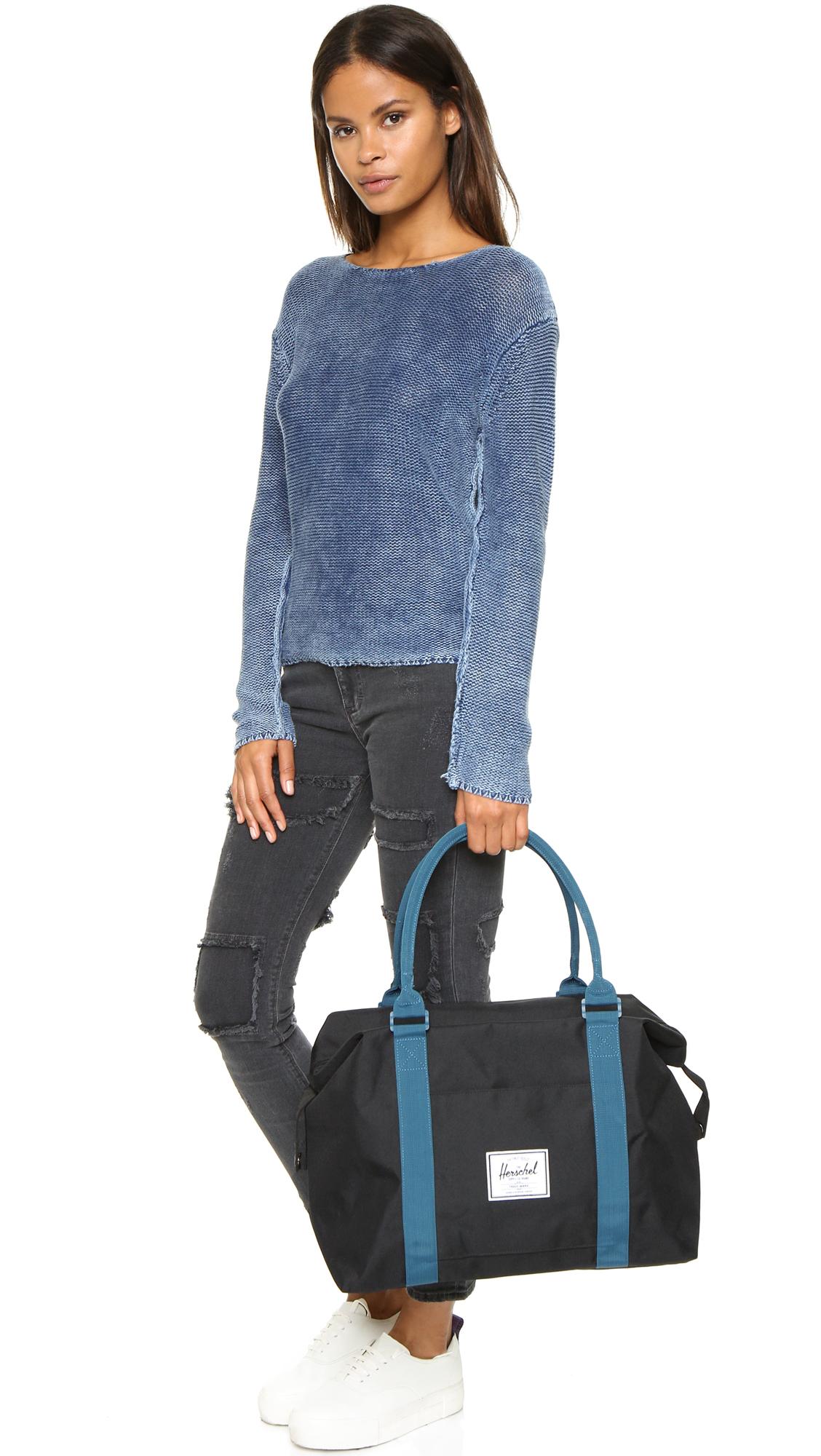 c0ccad55b Herschel Supply Co. Strand Duffel Bag - Black/ink Blue in Black - Lyst