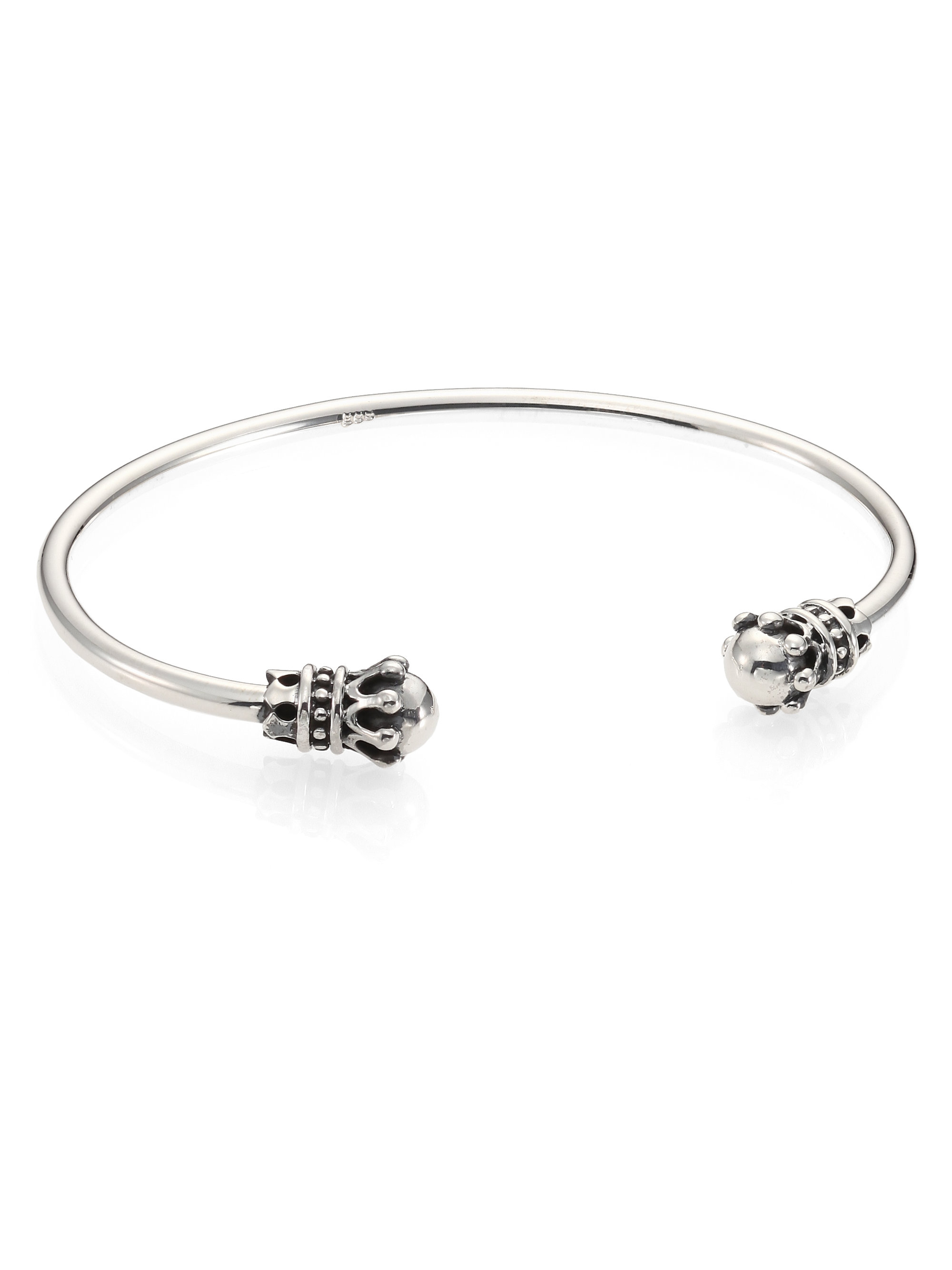 Sterling Silver Cuff Bracelet For Baby