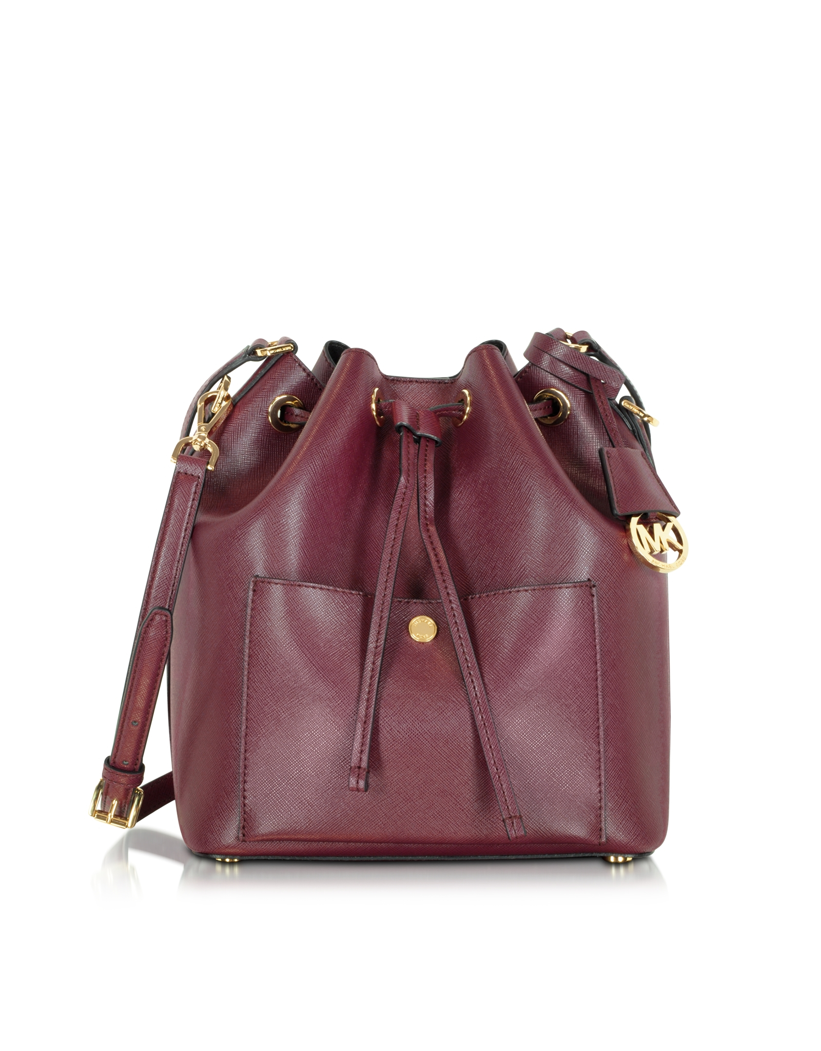a16c98a60b2c Leather Bucket Bag With Purple. Kooba Slouchy New Bucket Purple Thistle  Leather Shoulder Bag - Tradesy Lyst - Michael Kors Greenwich ...