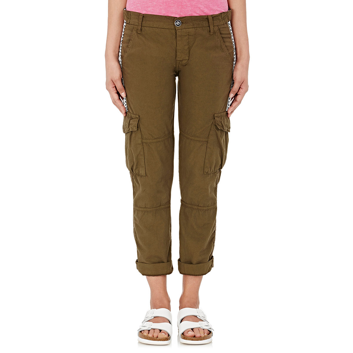 Fantastic New Womens Ladies Khaki Green Brown Wide Leg Combat Trousers Cargo Jeans Pants