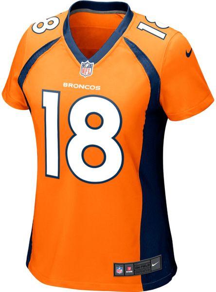 c50f1faac43 Denver Broncos Womens Denver Broncos Brock Osweiler Nike Orange Game ...