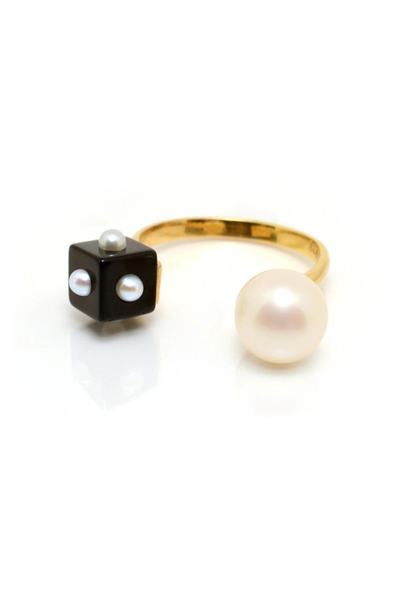 Nektar De Stagni pearl bracelet - Metallic FtmAfzvGR0
