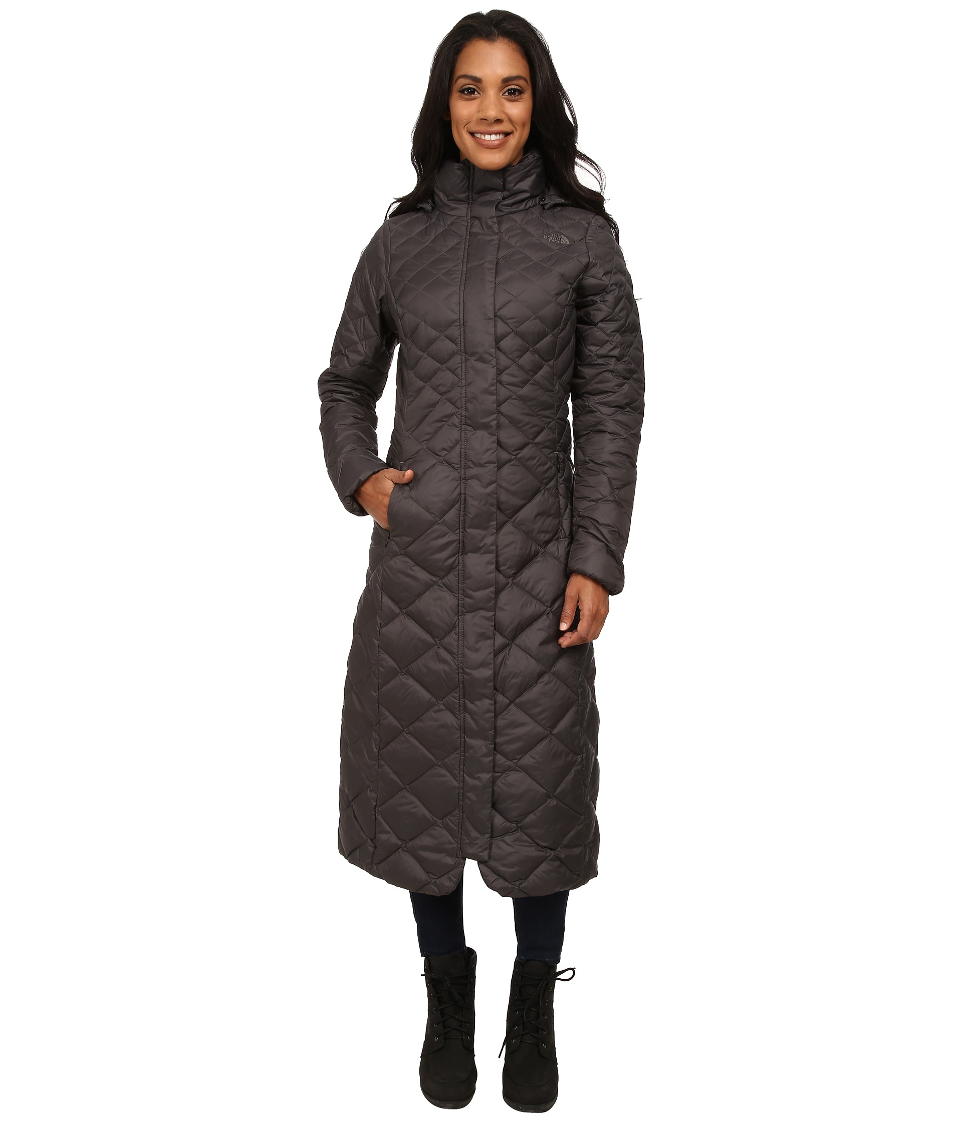 lyst the north face triple c parka ii in gray. Black Bedroom Furniture Sets. Home Design Ideas