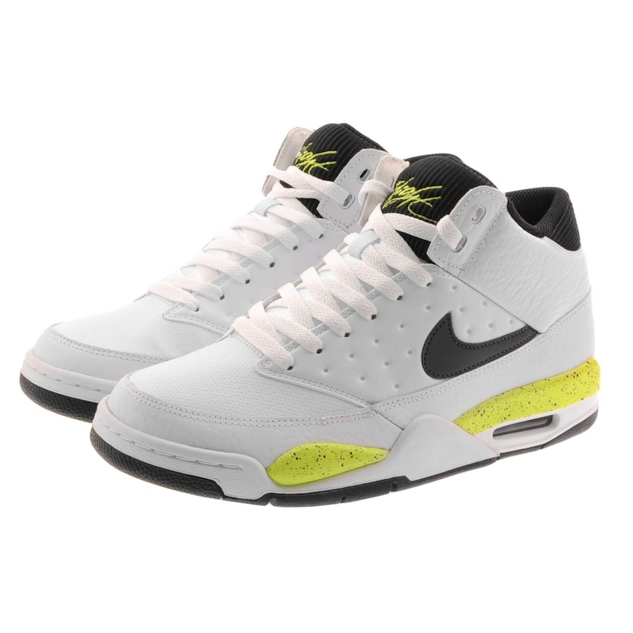 nike air flight classic trainers in white for men lyst. Black Bedroom Furniture Sets. Home Design Ideas