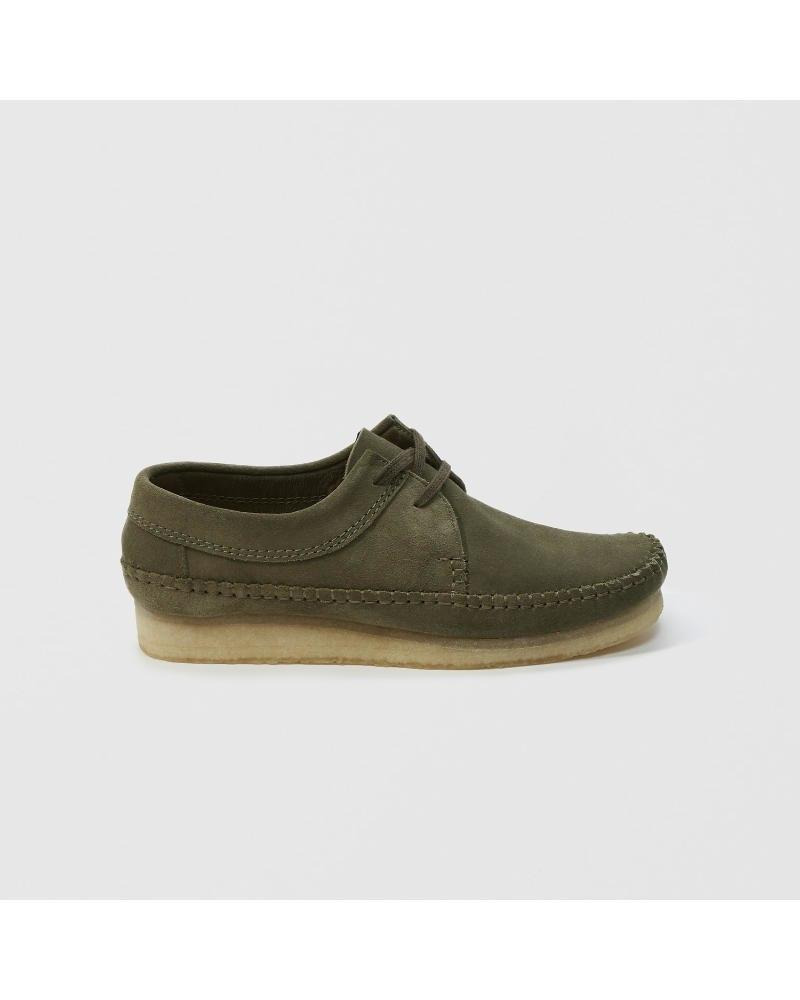 505aecaf2b9 Lyst - Abercrombie & Fitch Clarks Weaver Shoe in Green for Men