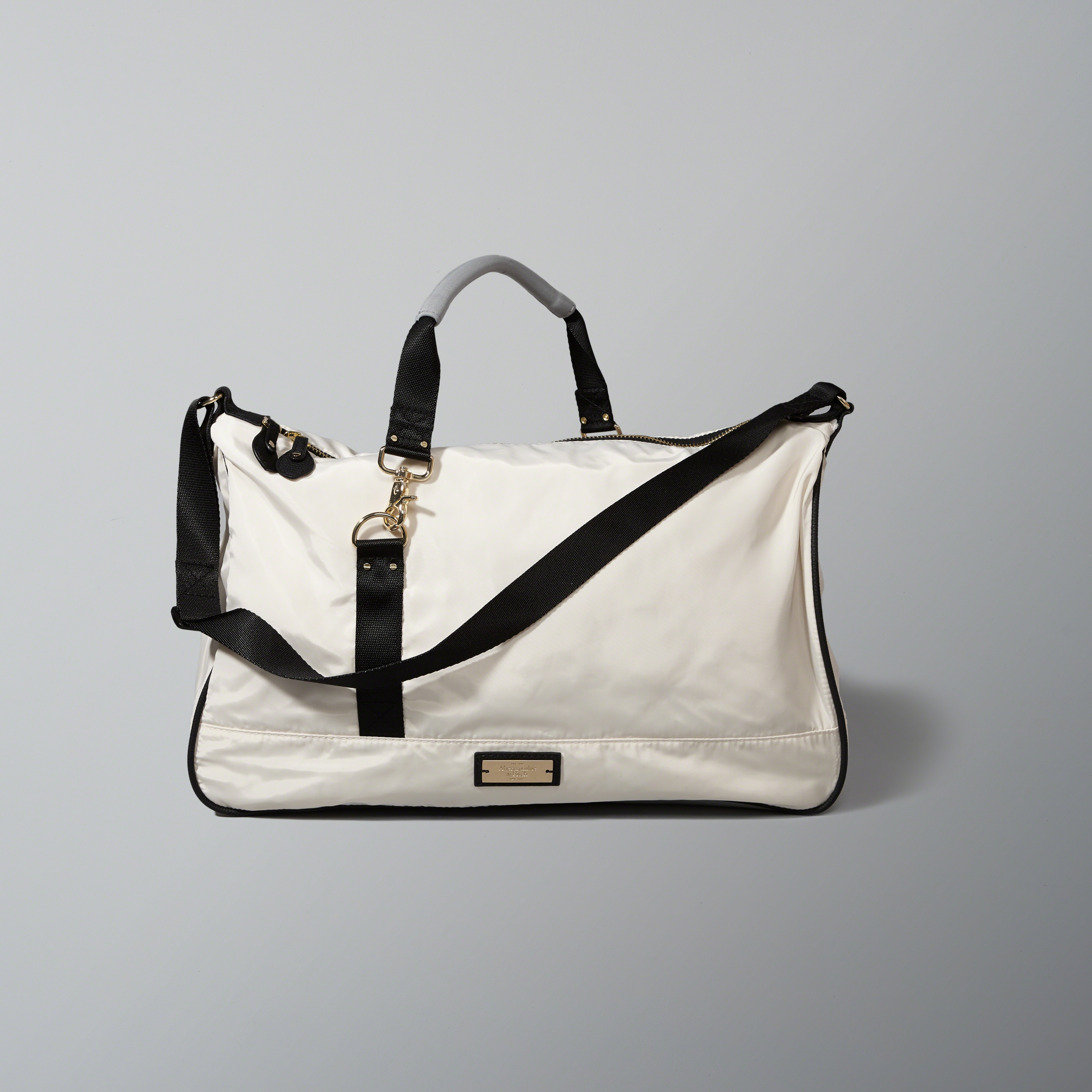 abercrombie fitch color block duffel bag in lyst