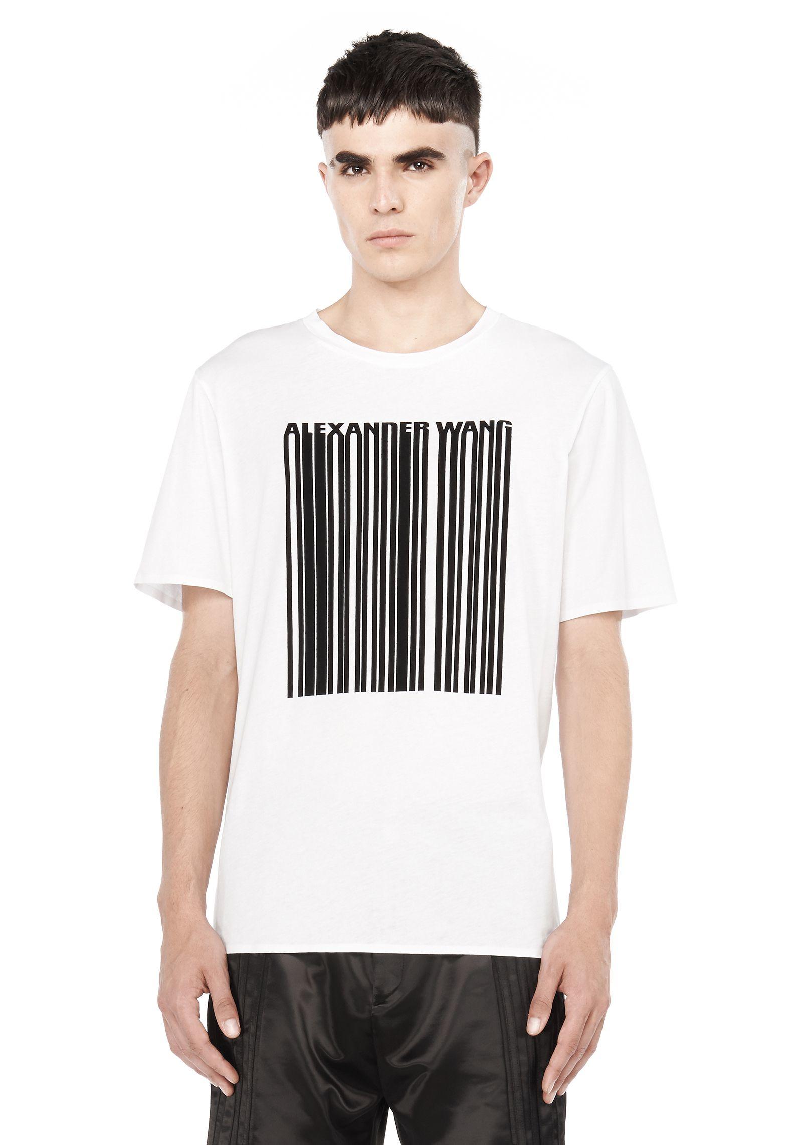 alexander-wang-white-barcode-short-sleev