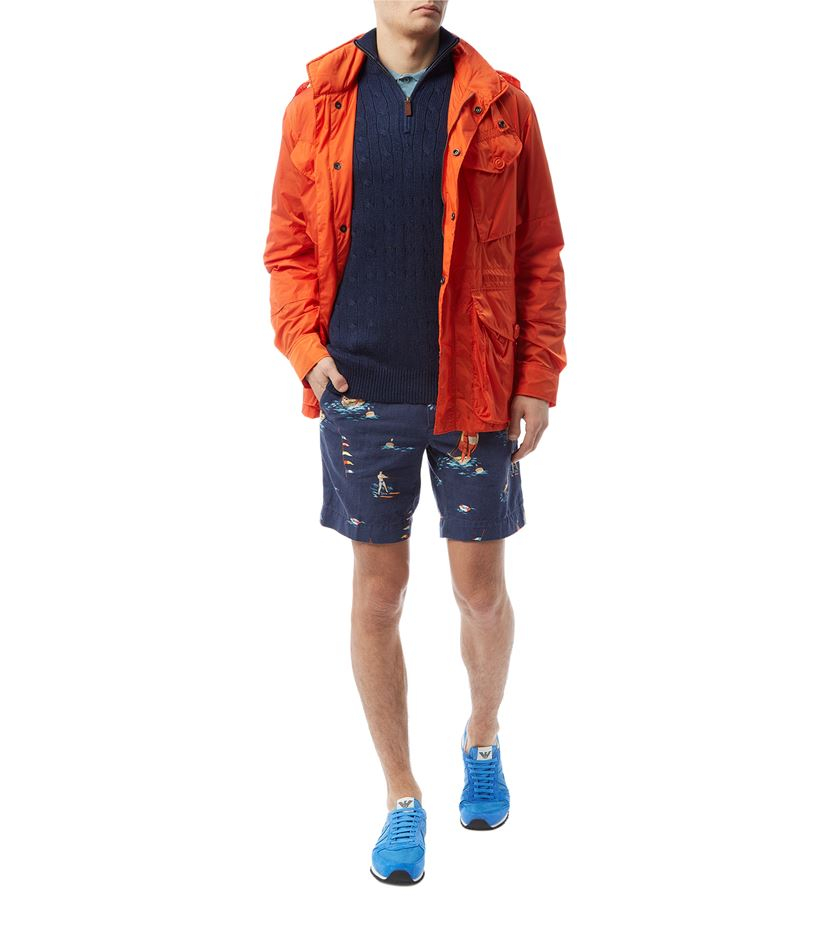 d88d9cee2 ... canada polo ralph lauren lightweight canadian combat jacket in orange  for db563 e5f56