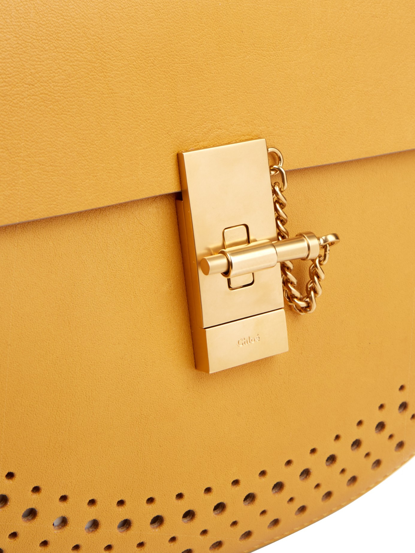 chloe elsie shoulder bag - Chlo�� Drew Small Leather Cross-Body Bag in Yellow | Lyst